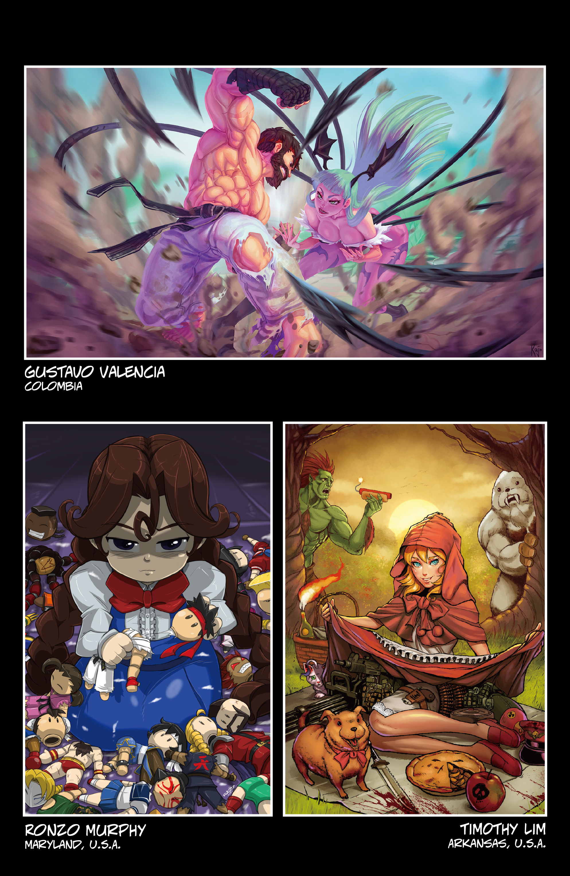 Read online Street Fighter VS Darkstalkers comic -  Issue #2 - 29
