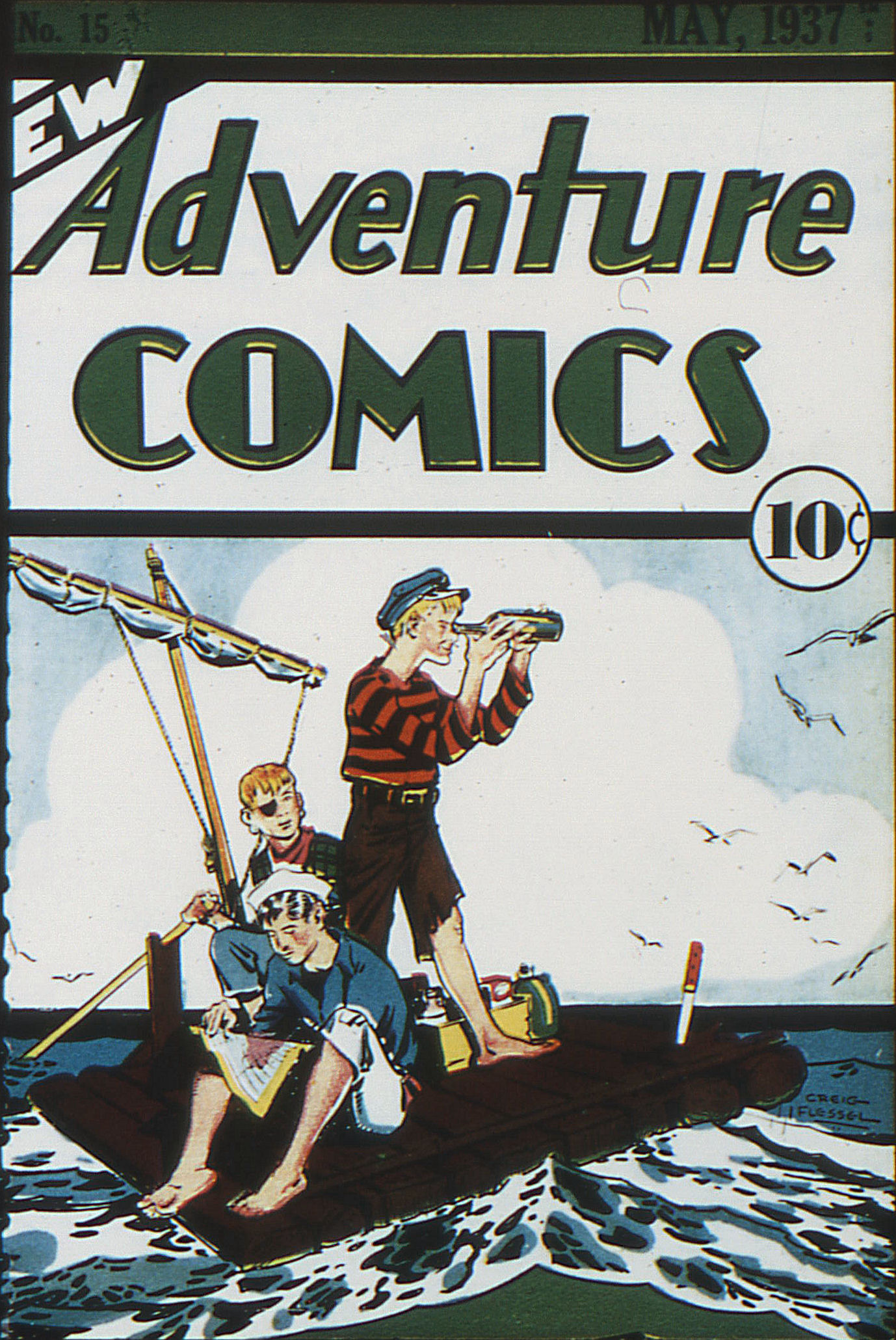 Read online Adventure Comics (1938) comic -  Issue #15 - 1