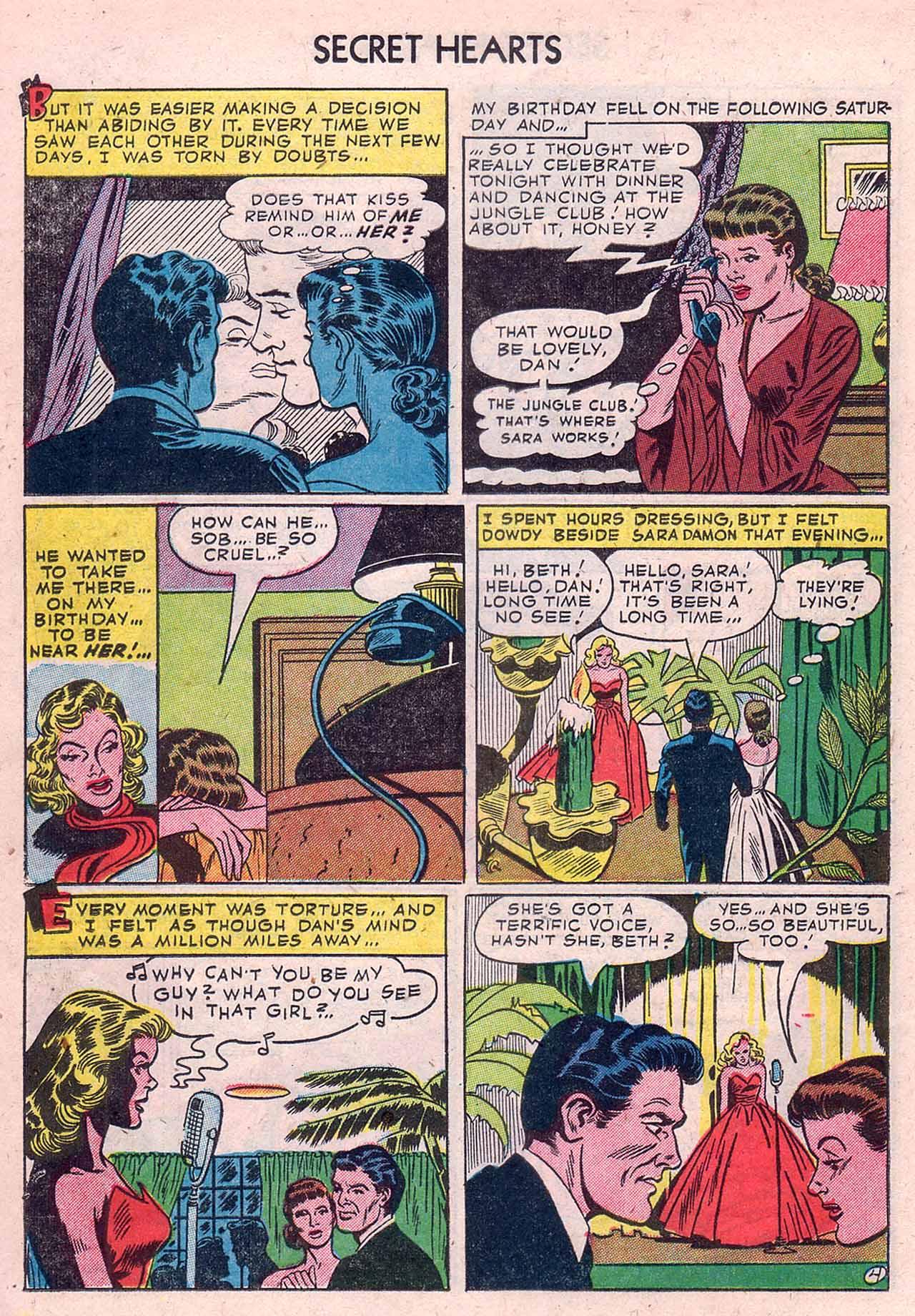 Read online Secret Hearts comic -  Issue #12 - 14