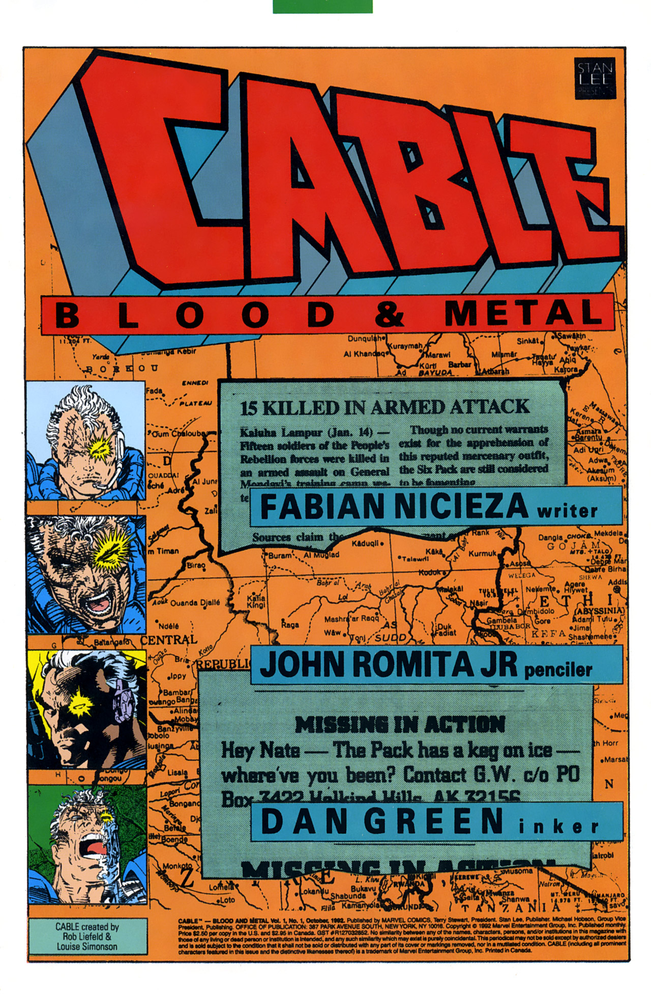 Read online Cable - Blood and Metal comic -  Issue #1 - 3