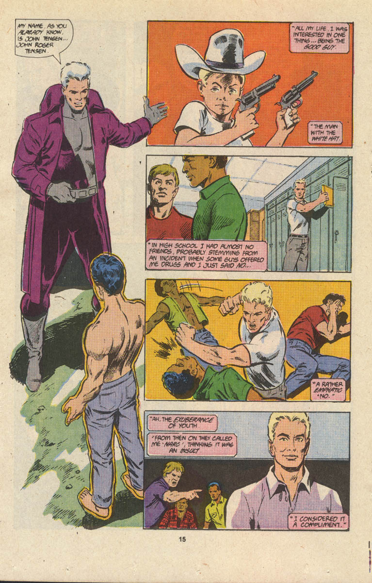 Read online Justice (1986) comic -  Issue #17 - 16