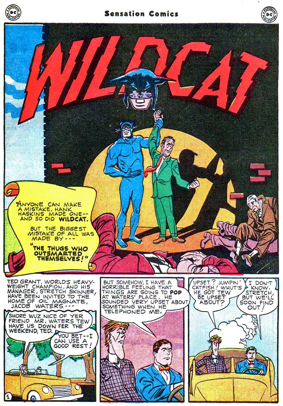 Read online Sensation (Mystery) Comics comic -  Issue #54 - 42