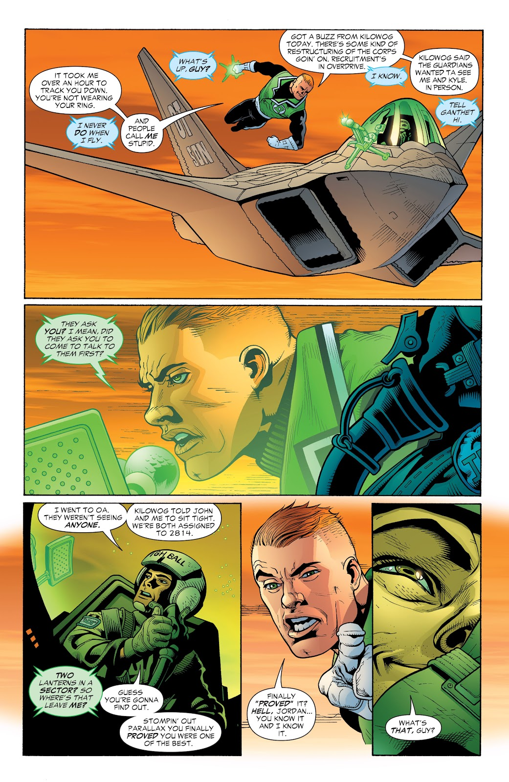 Read online Green Lantern by Geoff Johns comic -  Issue # TPB 1 (Part 2) - 82