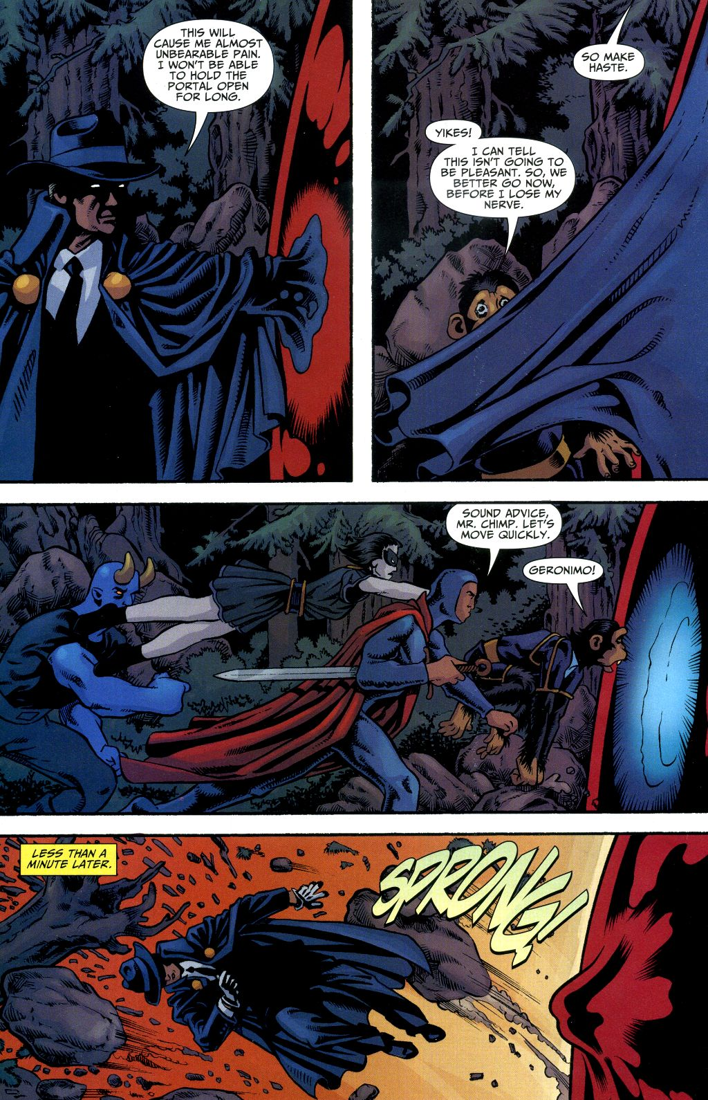 Read online Shadowpact comic -  Issue #1 - 17