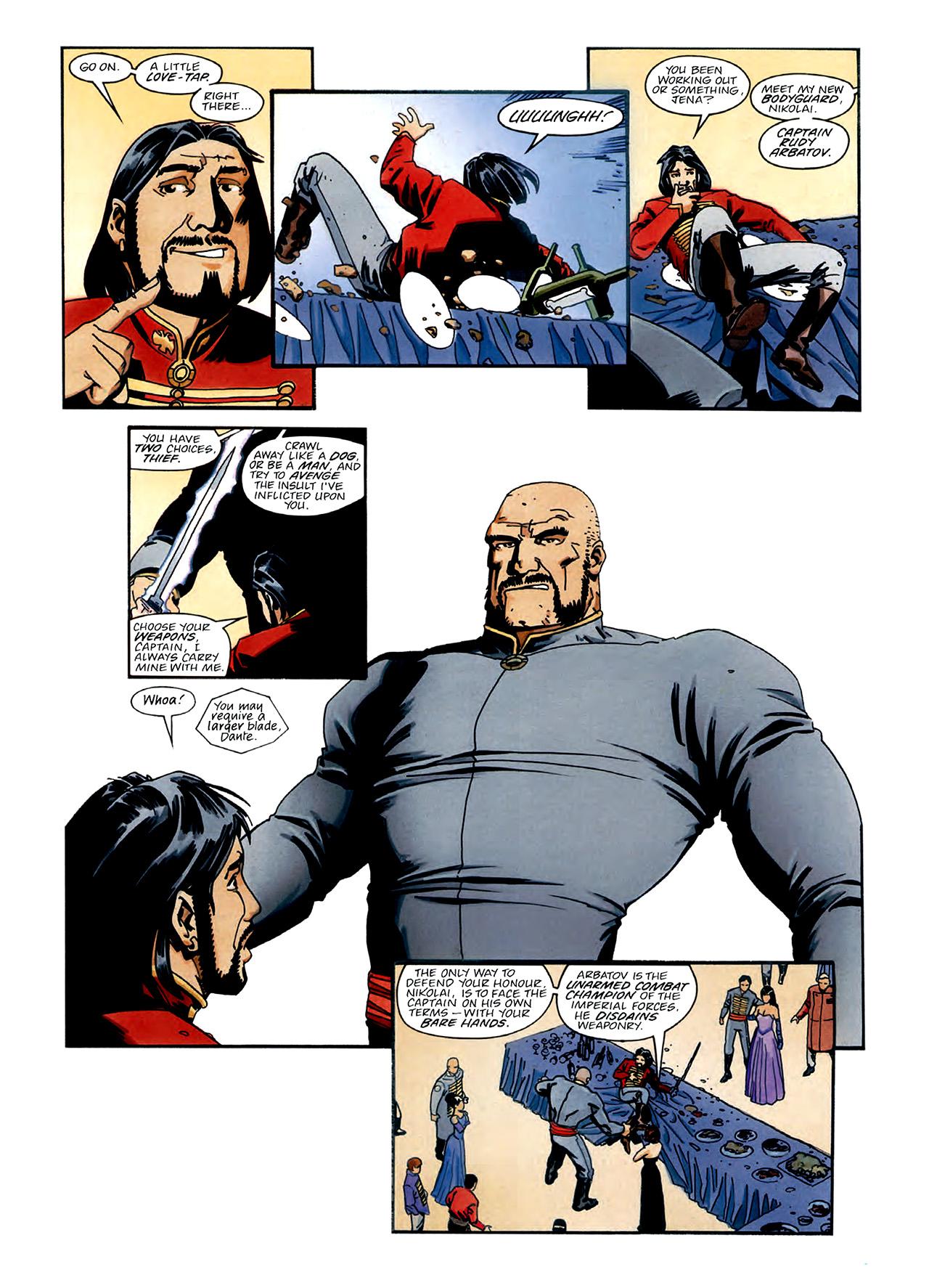 Read online Nikolai Dante comic -  Issue # TPB 3 - 9