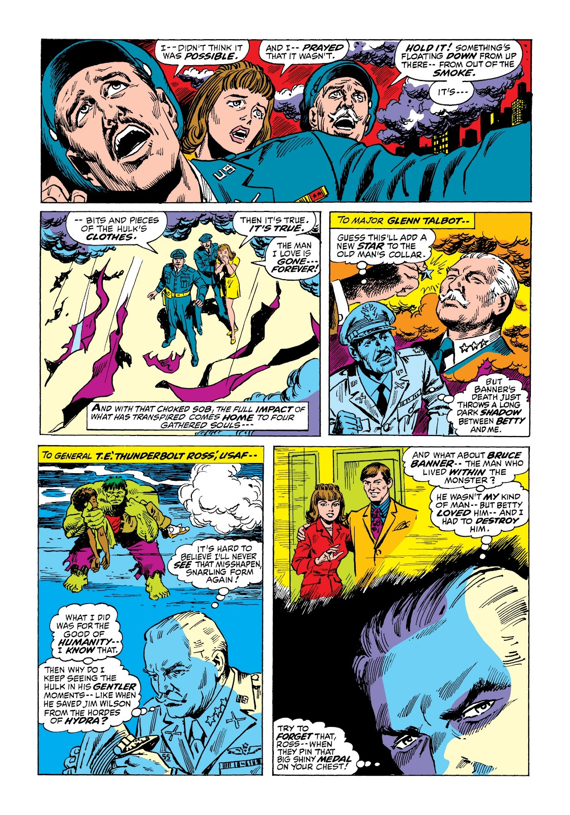 Read online Marvel Masterworks: The Incredible Hulk comic -  Issue # TPB 7 (Part 2) - 97