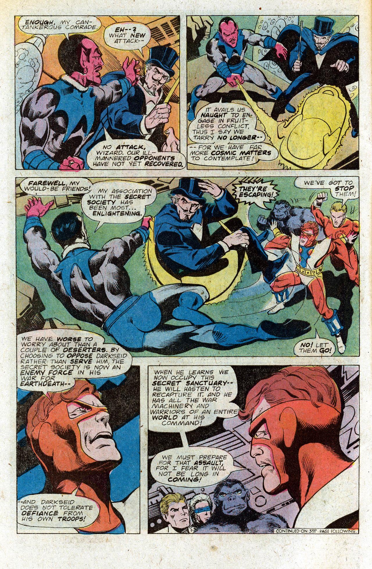Read online Secret Society of Super-Villains comic -  Issue #4 - 6