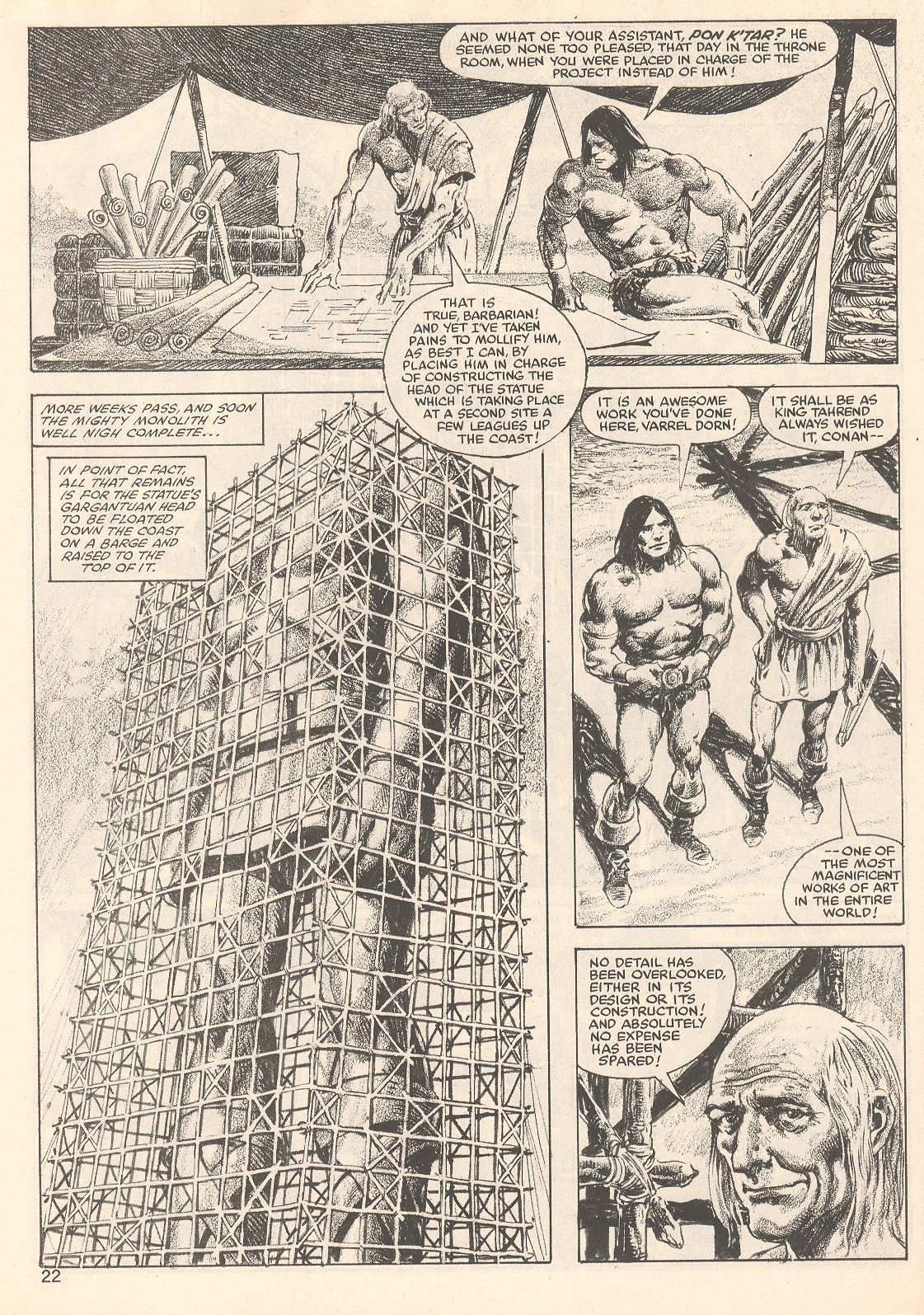 Comic The Savage Sword Of Conan issue 81