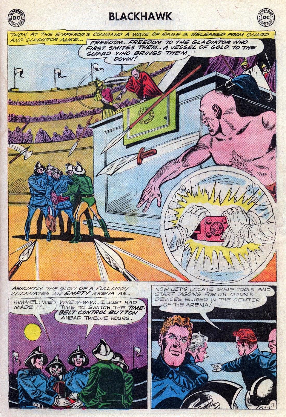 Blackhawk (1957) Issue #189 #82 - English 21