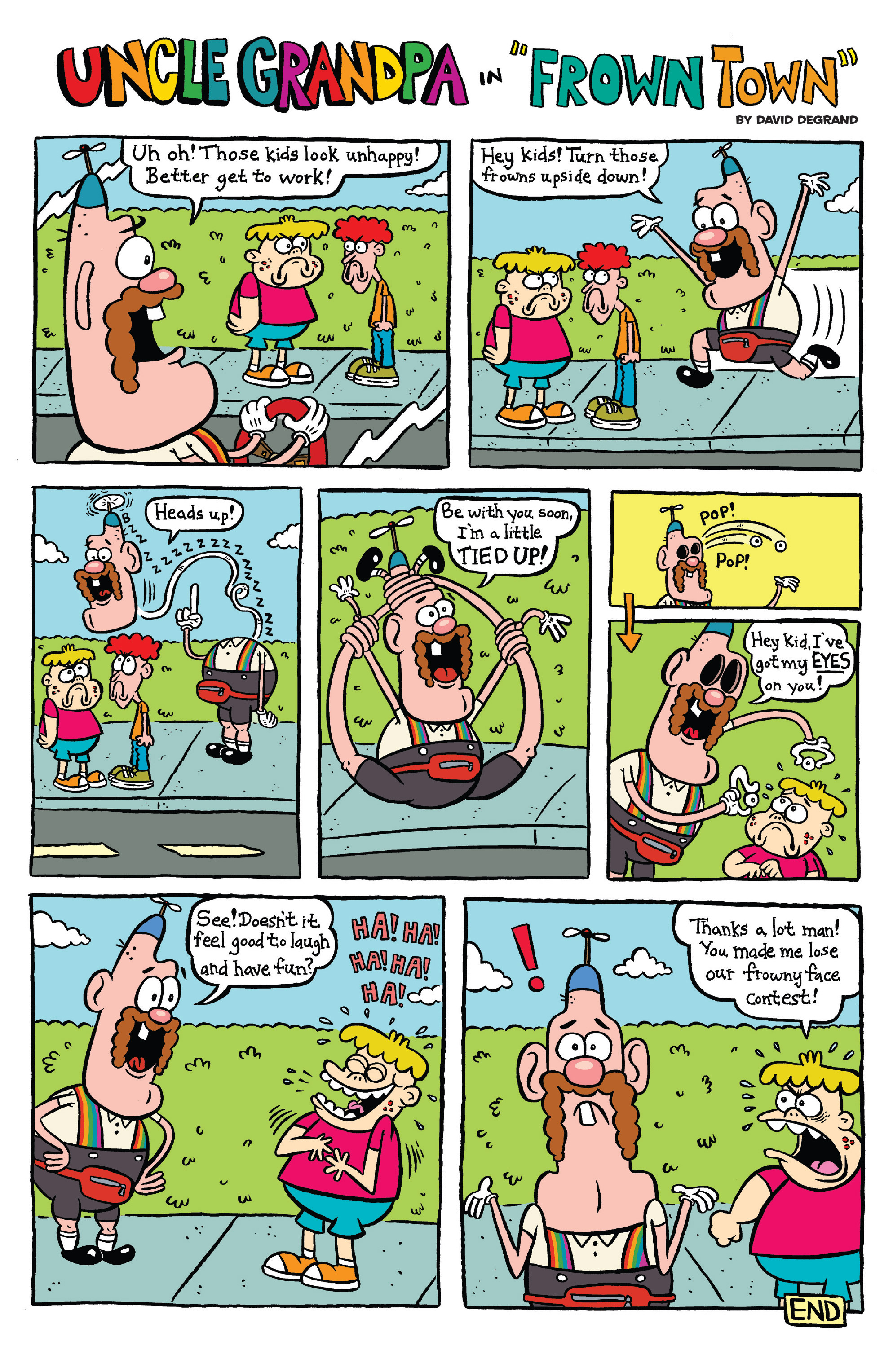 Read online Uncle Grandpa comic -  Issue #3 - 22