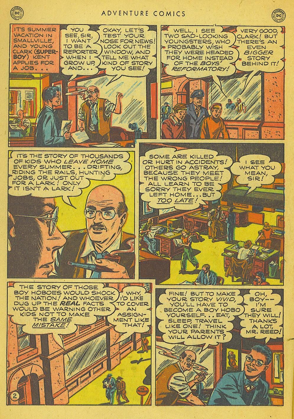 Read online Adventure Comics (1938) comic -  Issue #153 - 3
