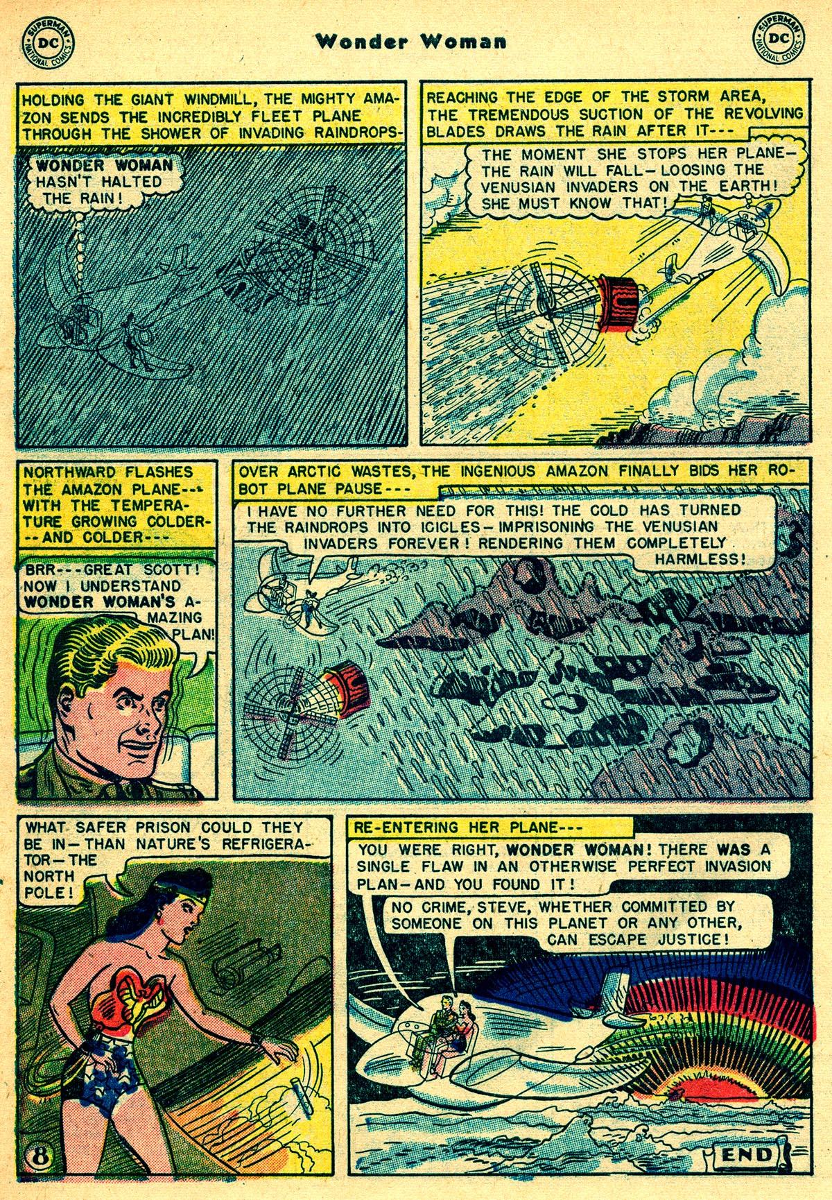 Read online Wonder Woman (1942) comic -  Issue #55 - 40