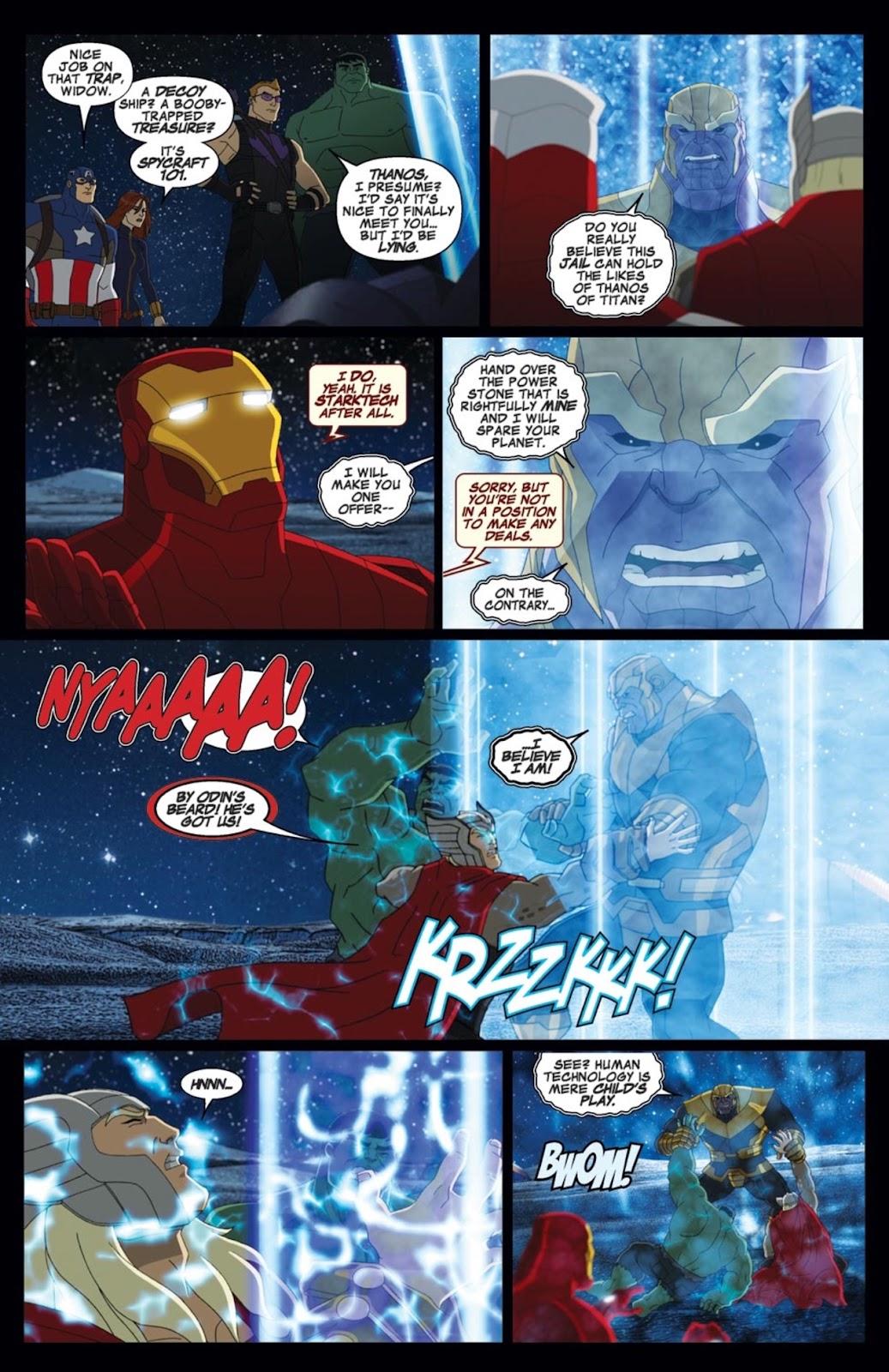 Read online Marvel Universe Avengers Assemble Season 2 comic -  Issue #2 - 9