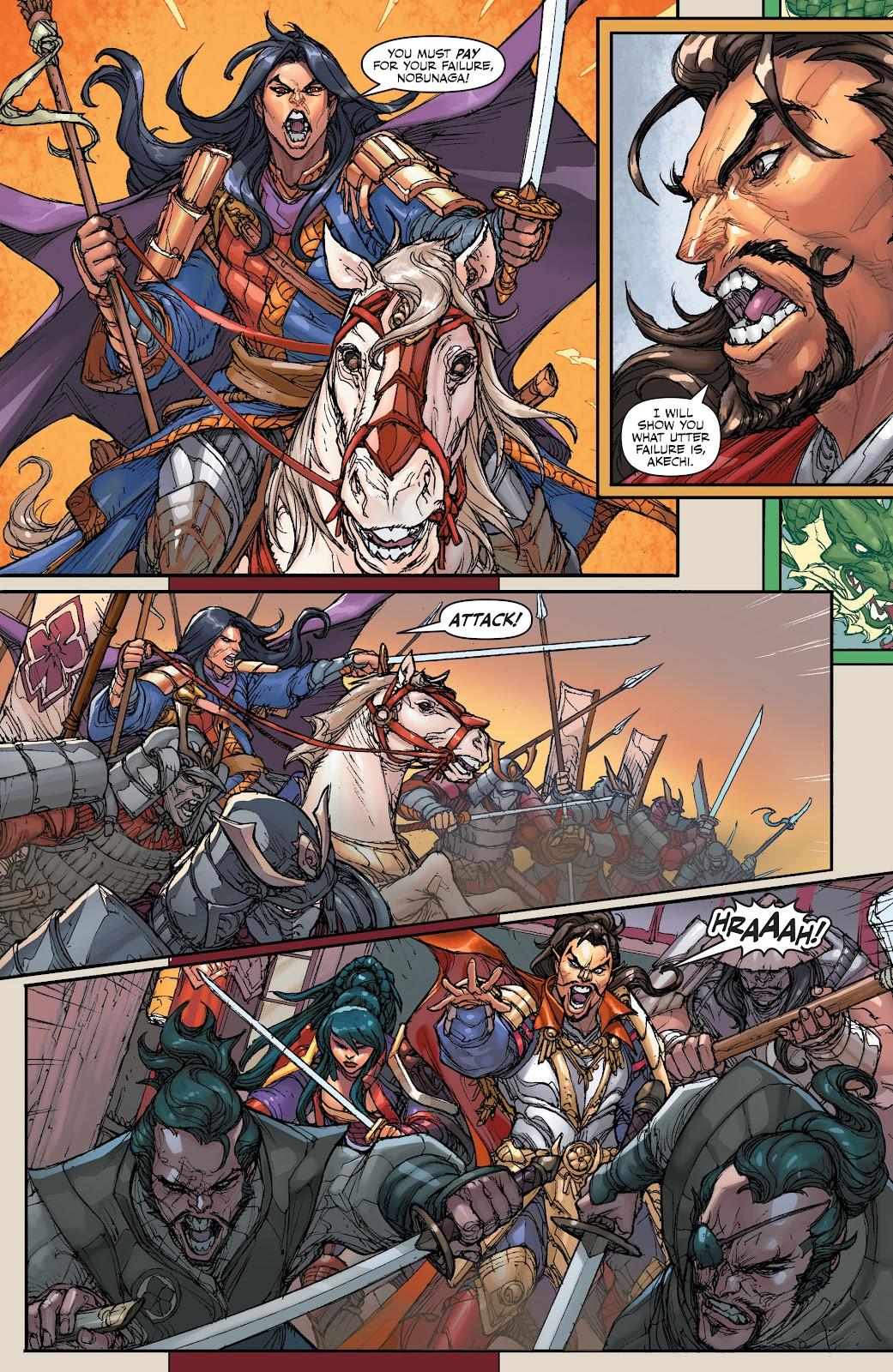 Read online Oniba: Swords of the Demon comic -  Issue # Full - 7