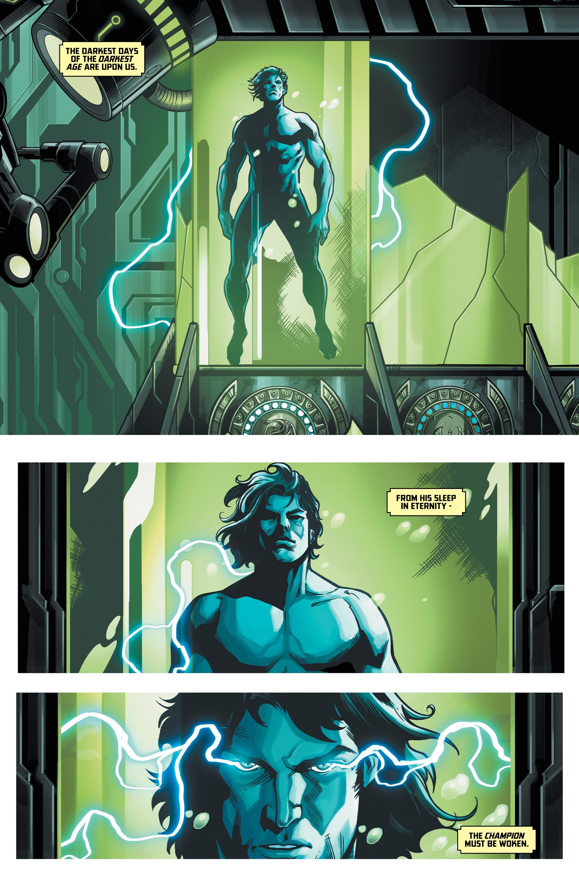 Grant Morrison s Avatarex Destroyer of Darkness Issue 1