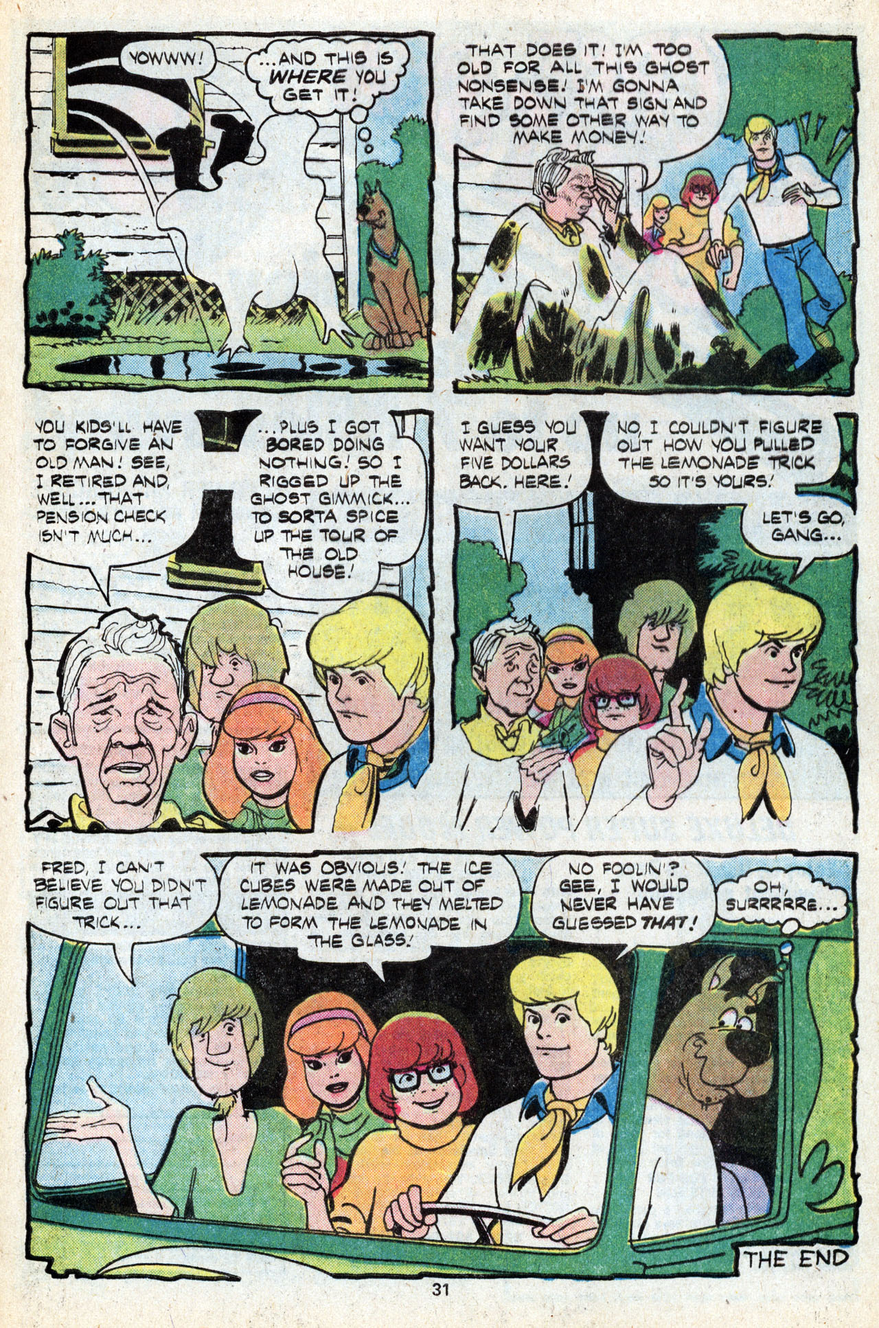 Read online Scooby-Doo (1977) comic -  Issue #5 - 33