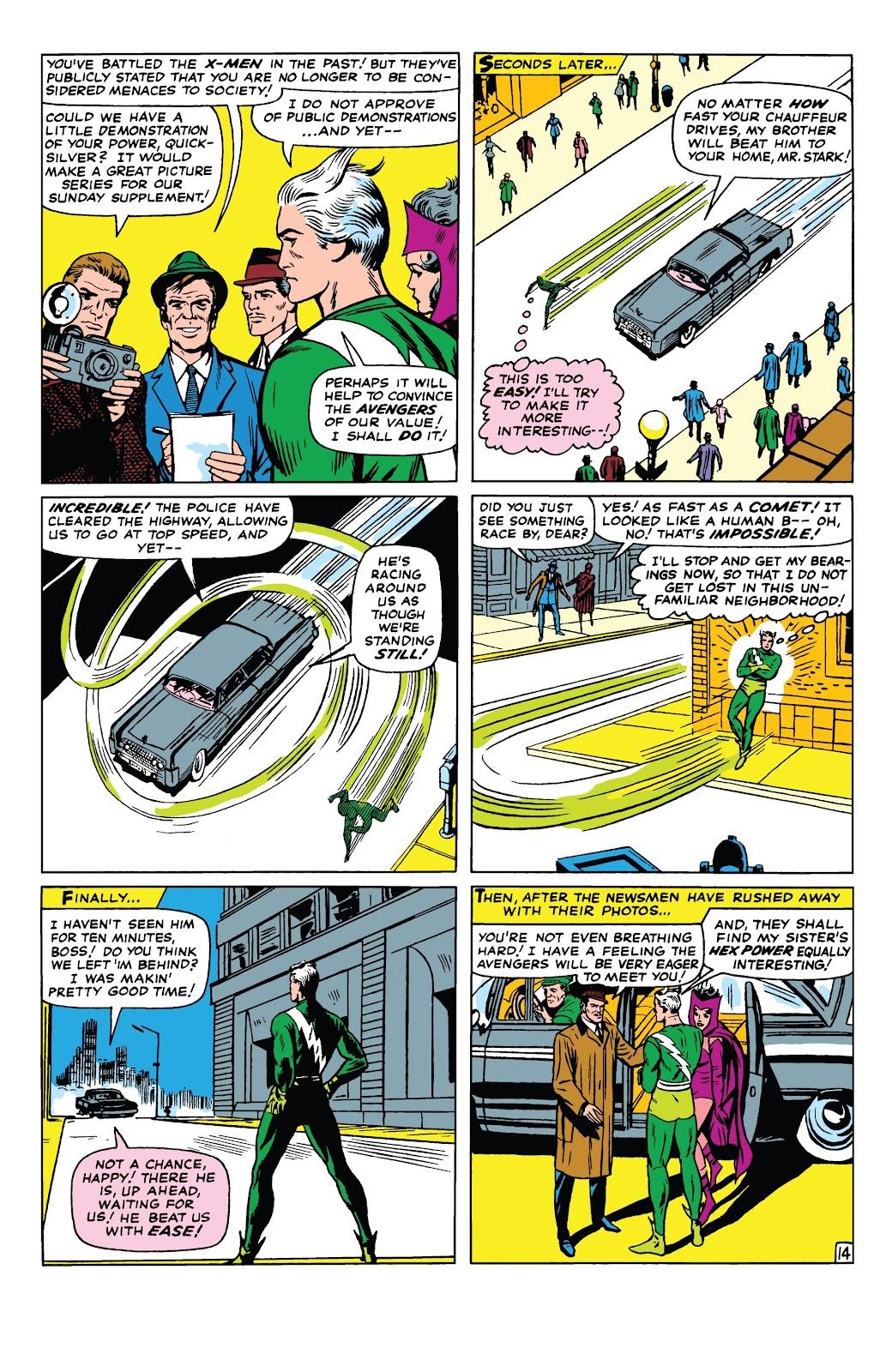 Read online Marvel Tales: Avengers comic -  Issue # Full - 19