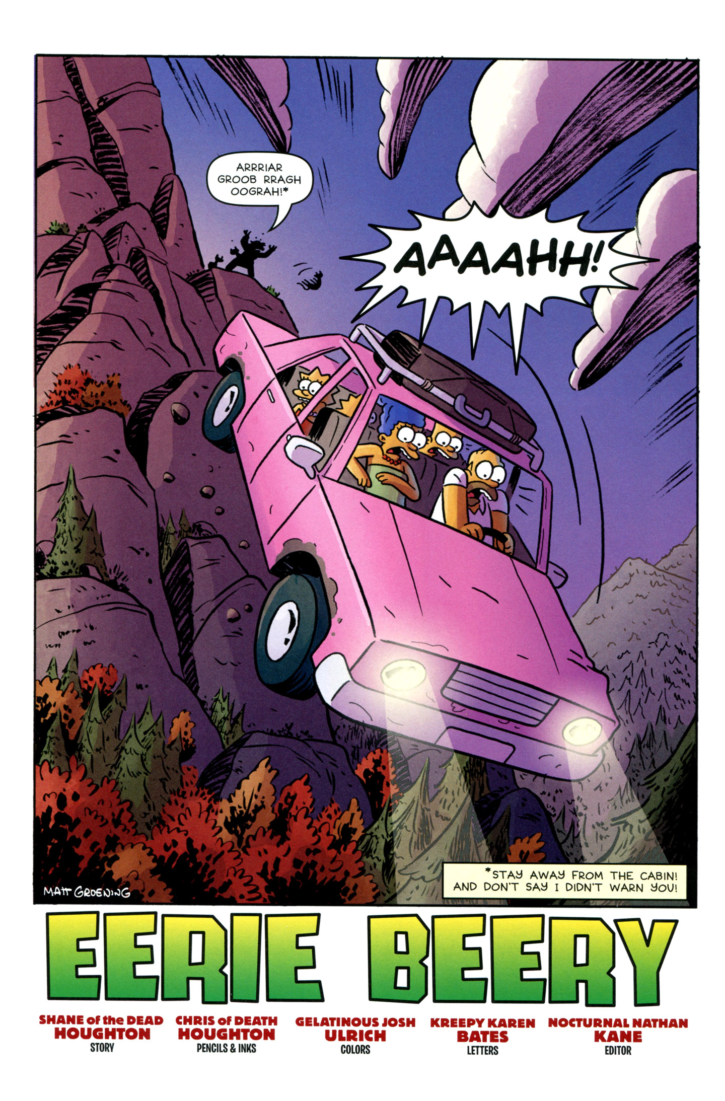 Read online Treehouse of Horror comic -  Issue #18 - 3