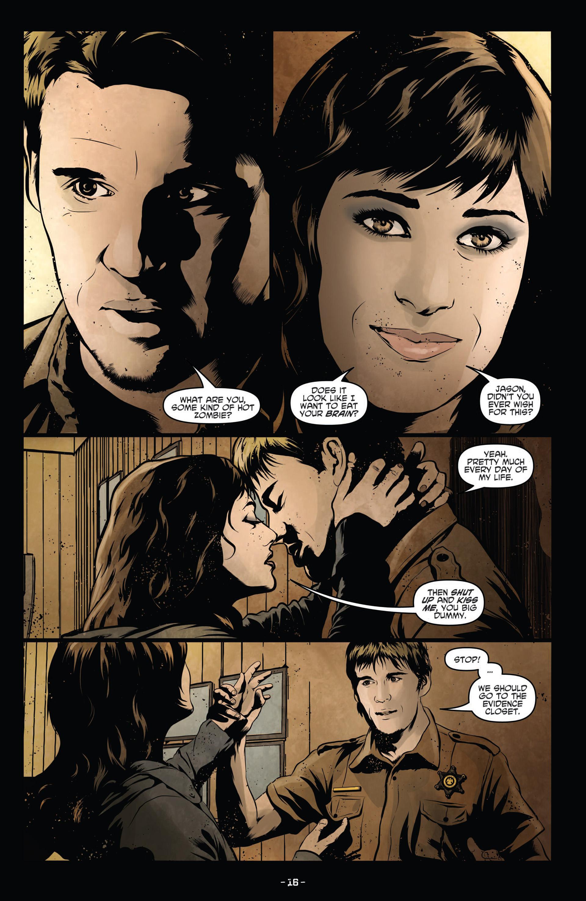Read online True Blood (2012) comic -  Issue #12 - 18
