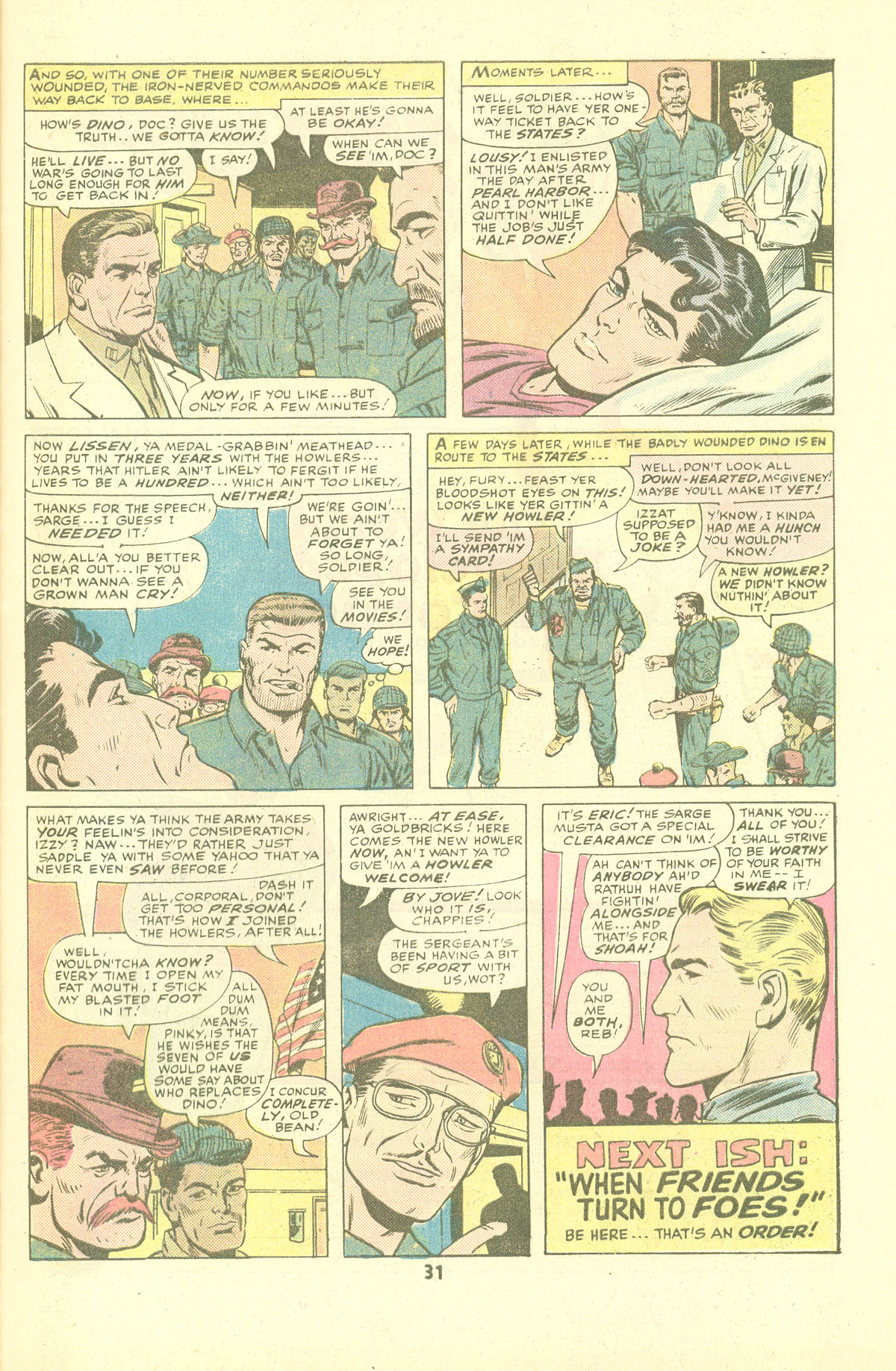 Read online Sgt. Fury comic -  Issue #137 - 33