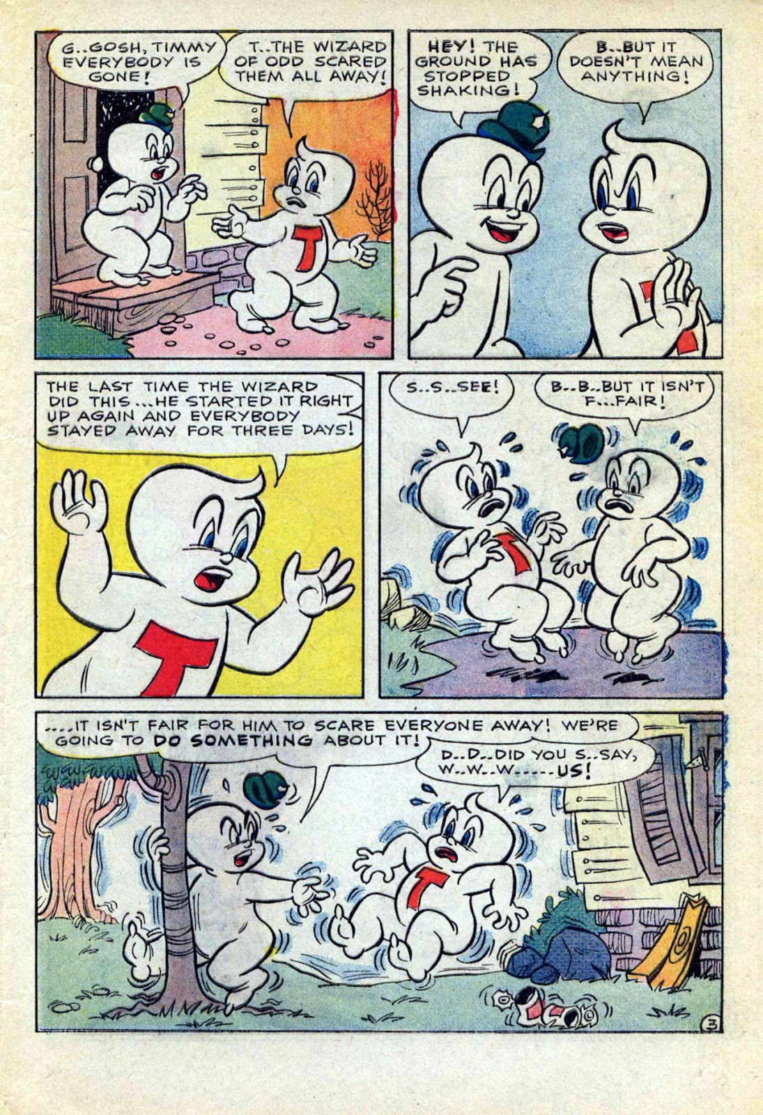 Read online Timmy the Timid Ghost comic -  Issue #17 - 5