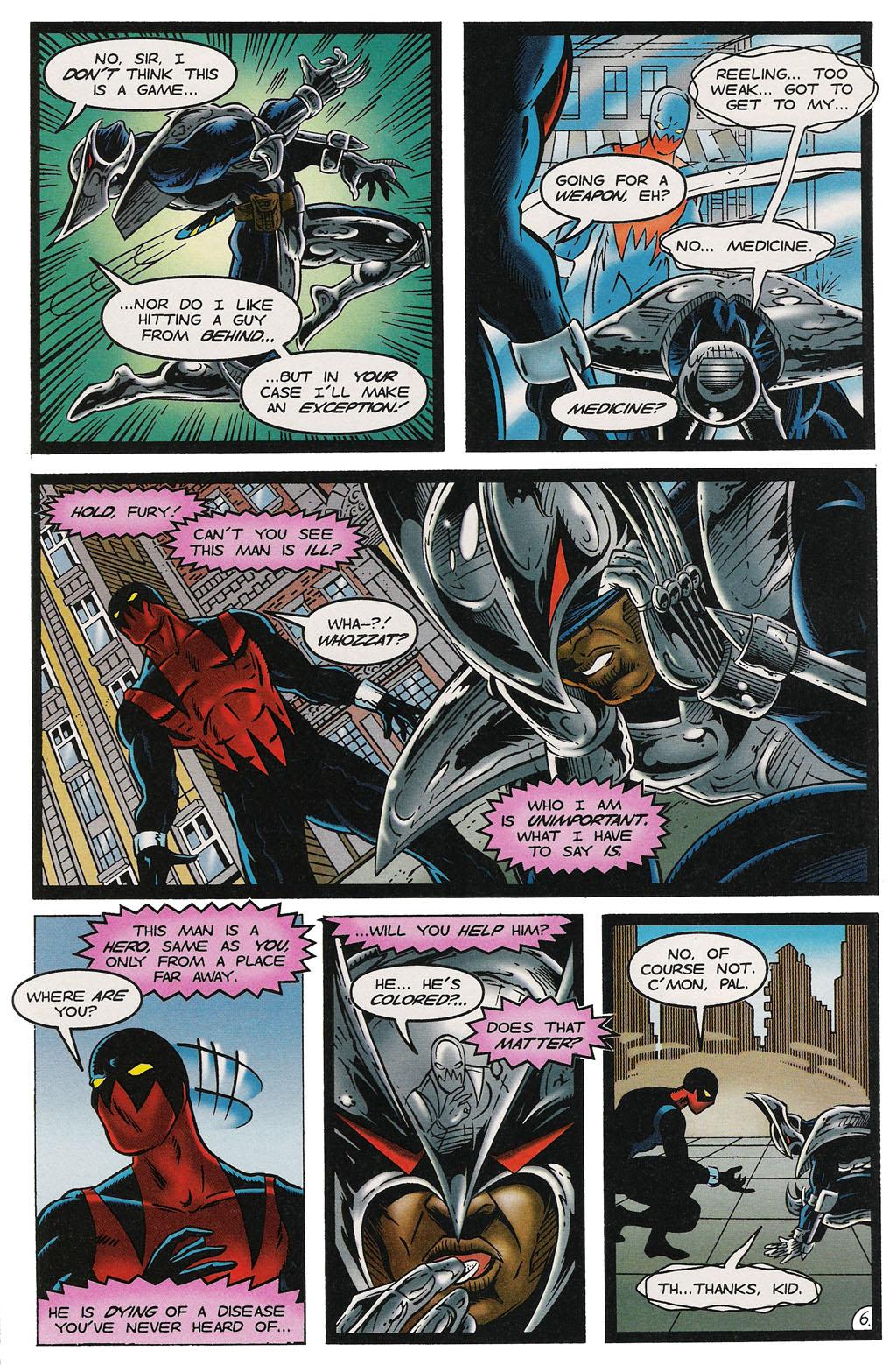Read online ShadowHawk comic -  Issue #14 - 7