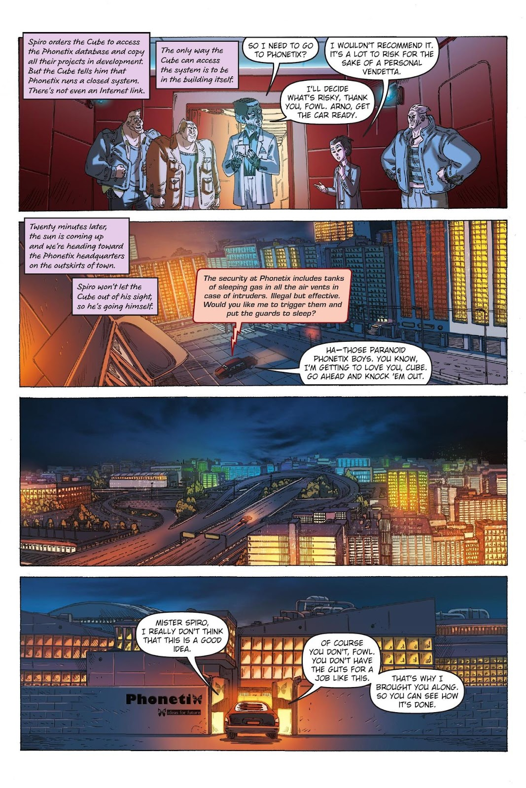 Artemis Fowl: The Eternity Code issue TPB - Page 95