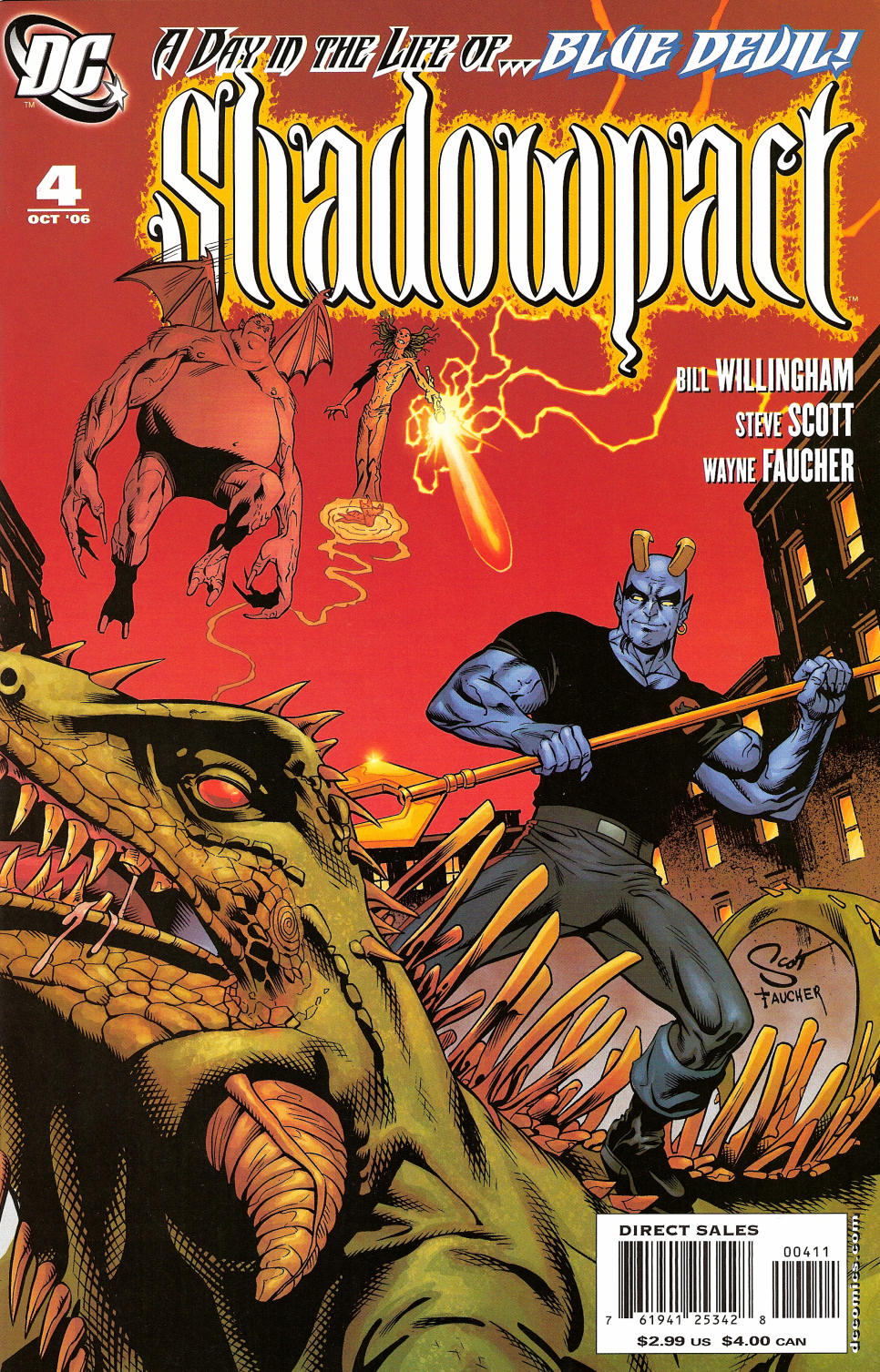 Read online Shadowpact comic -  Issue #4 - 1