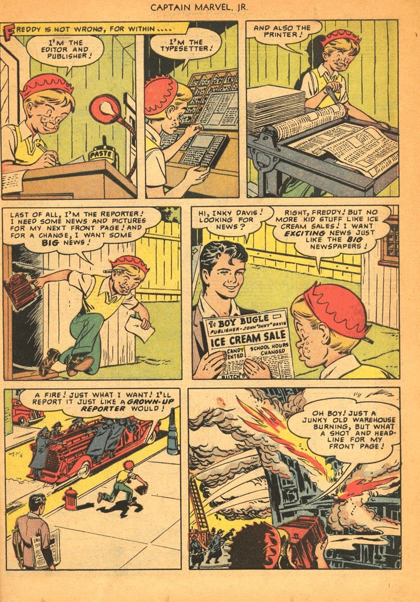 Captain Marvel, Jr. issue 84 - Page 13
