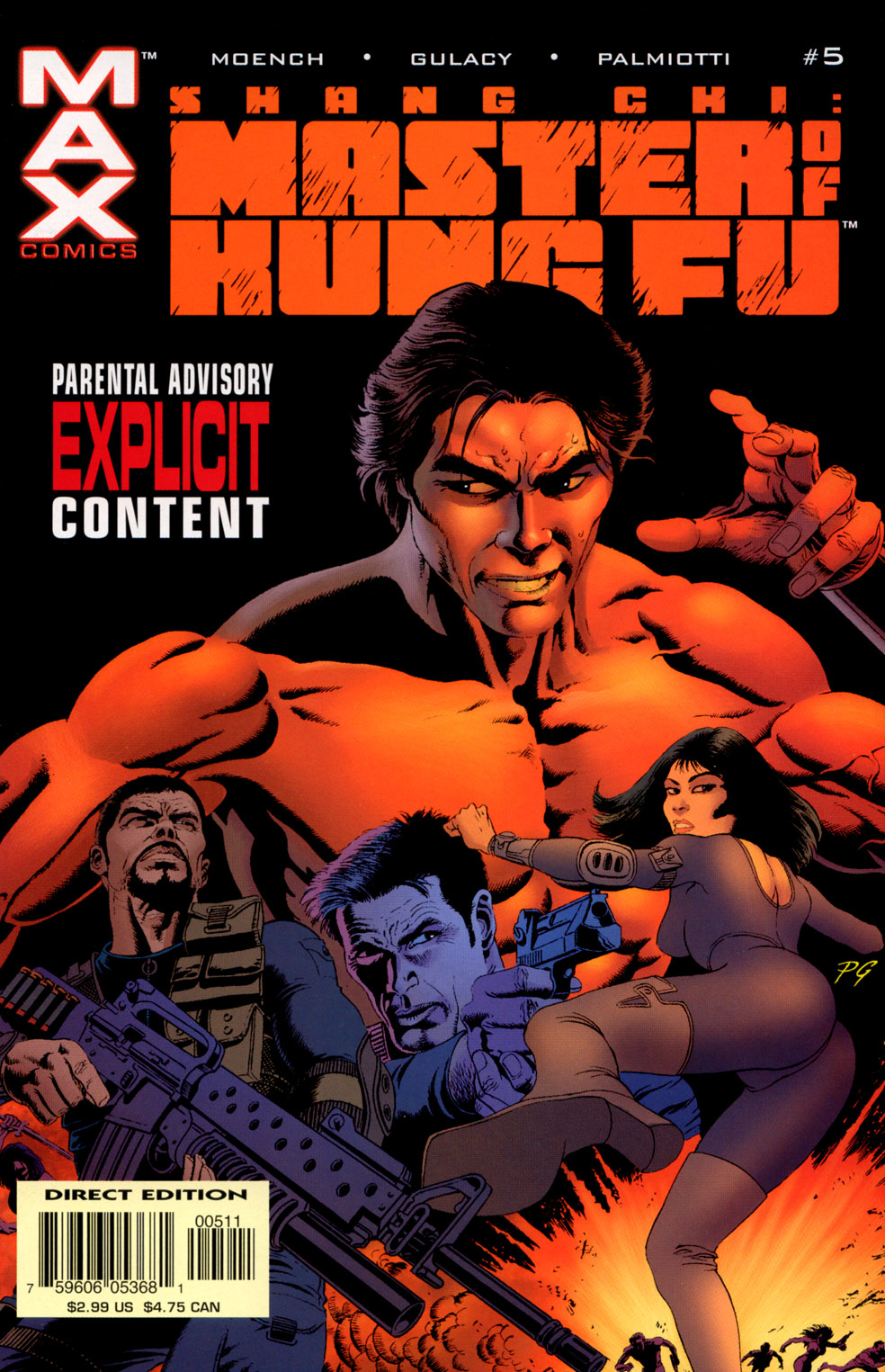 Read online Shang-Chi: Master of Kung Fu comic -  Issue #5 - 1