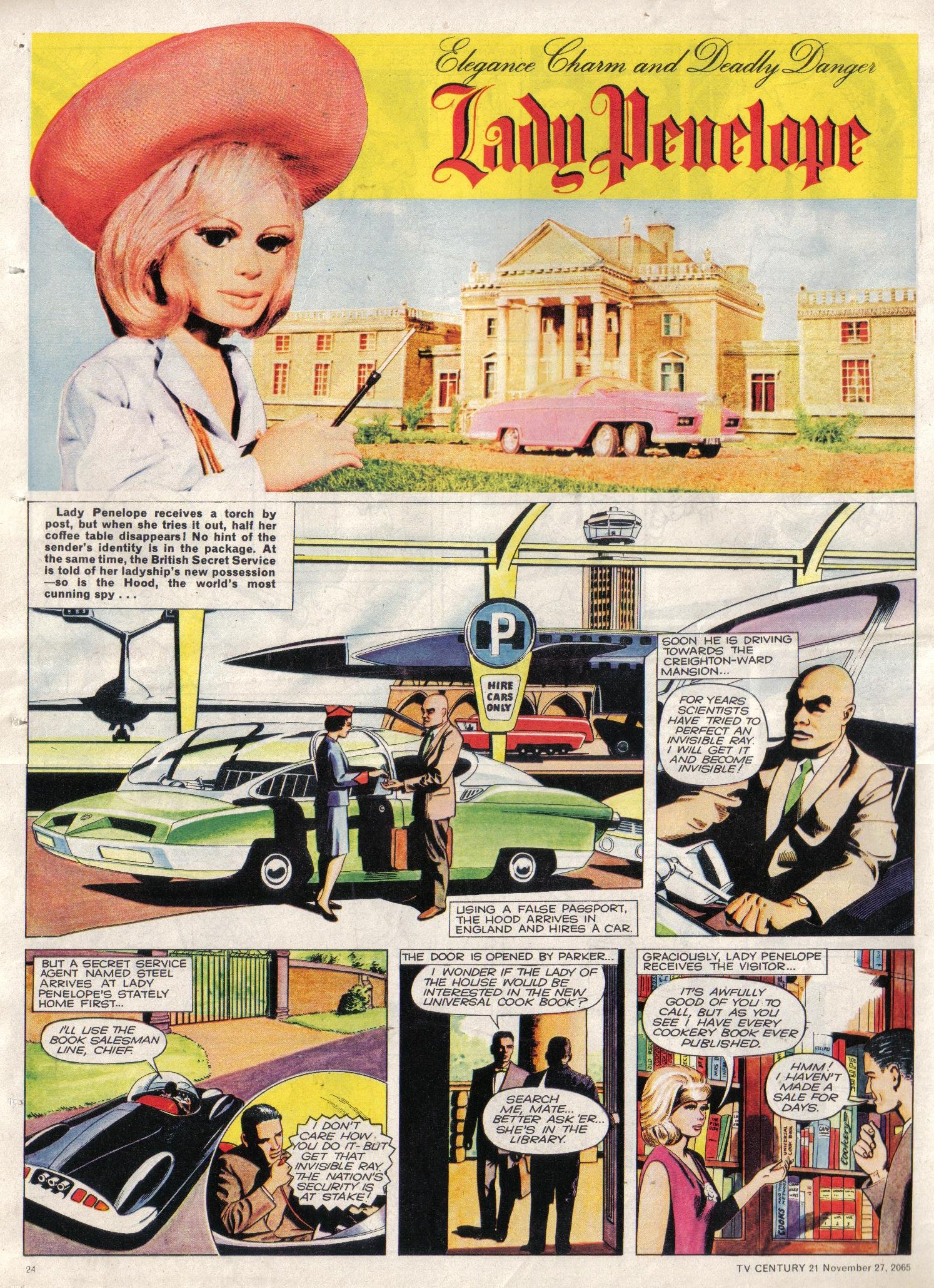 Read online TV Century 21 (TV 21) comic -  Issue #45 - 23