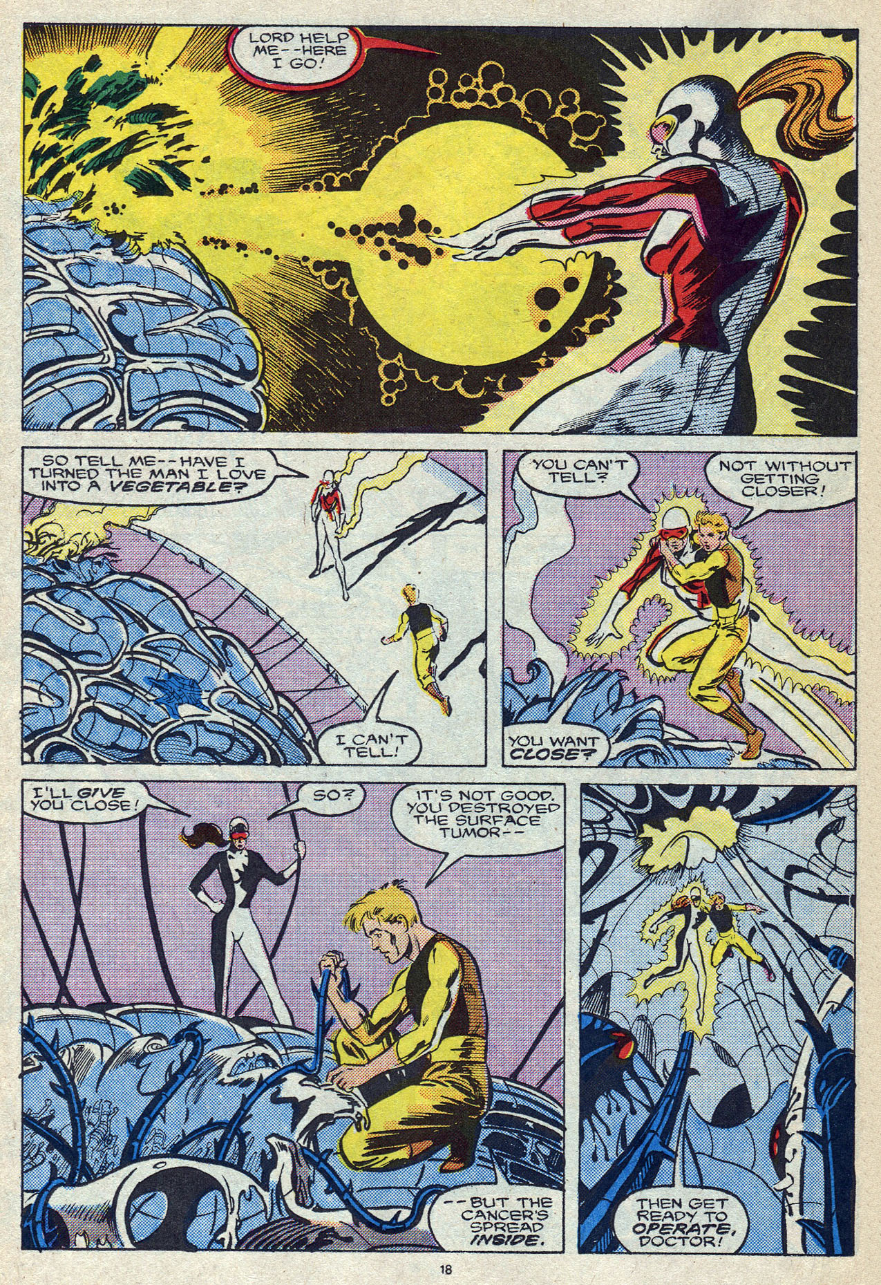 Read online Alpha Flight (1983) comic -  Issue #56 - 25