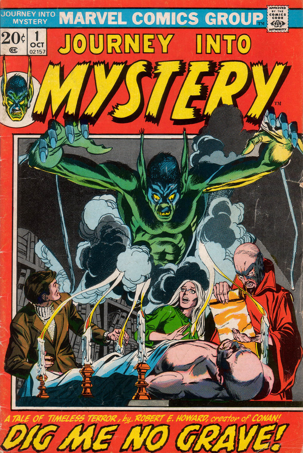 Journey Into Mystery (1972) issue 1 - Page 1