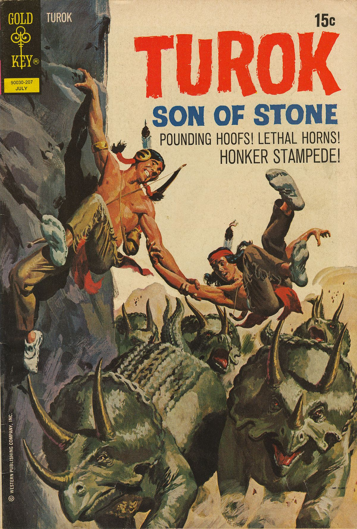 Read online Turok, Son of Stone comic -  Issue #79 - 1