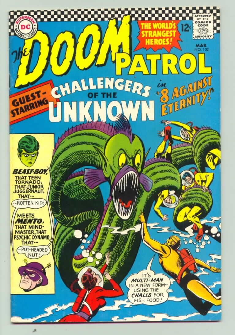 Doom Patrol (1964) 102 Page 1