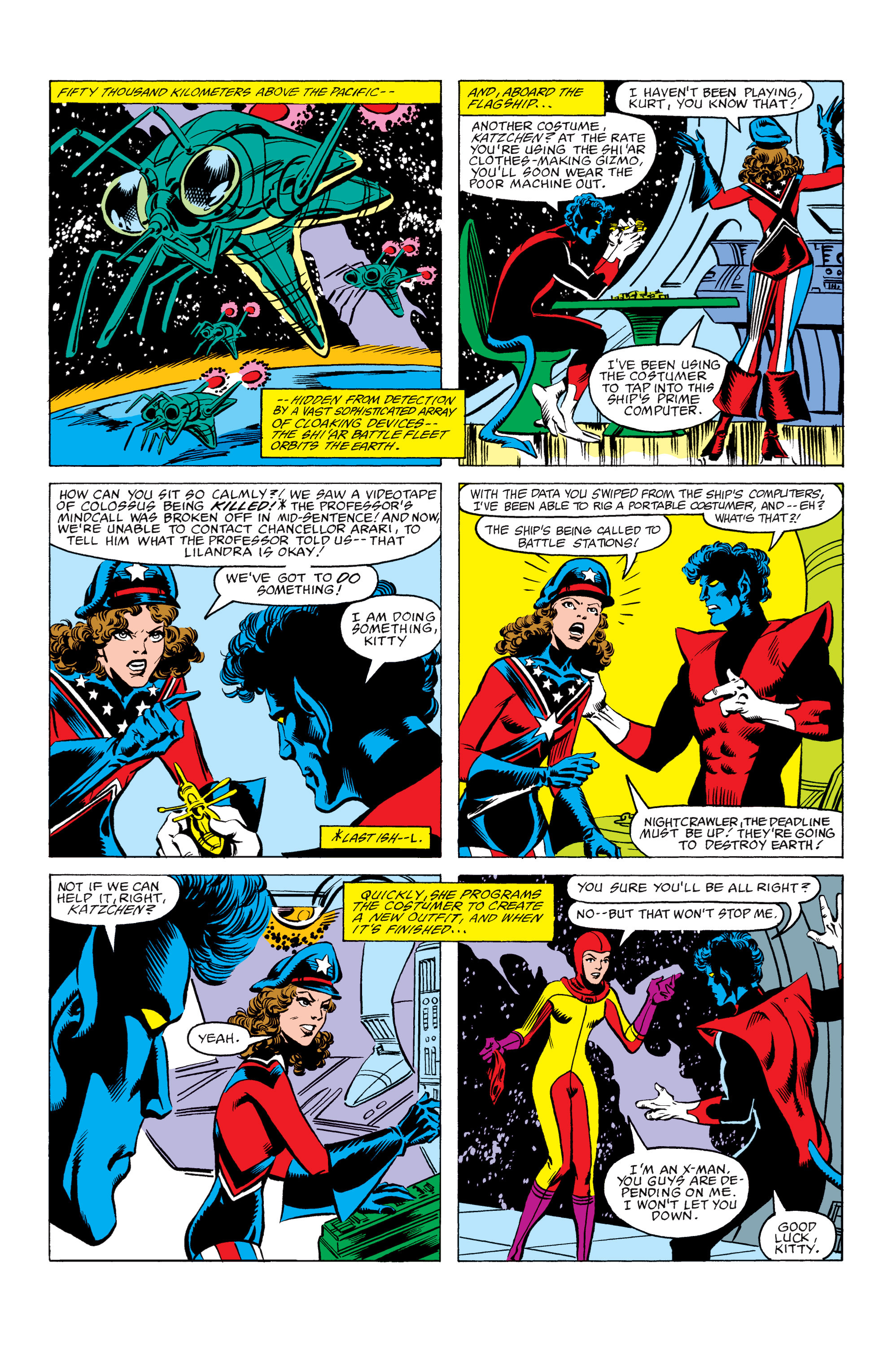 Read online Uncanny X-Men (1963) comic -  Issue #157 - 11