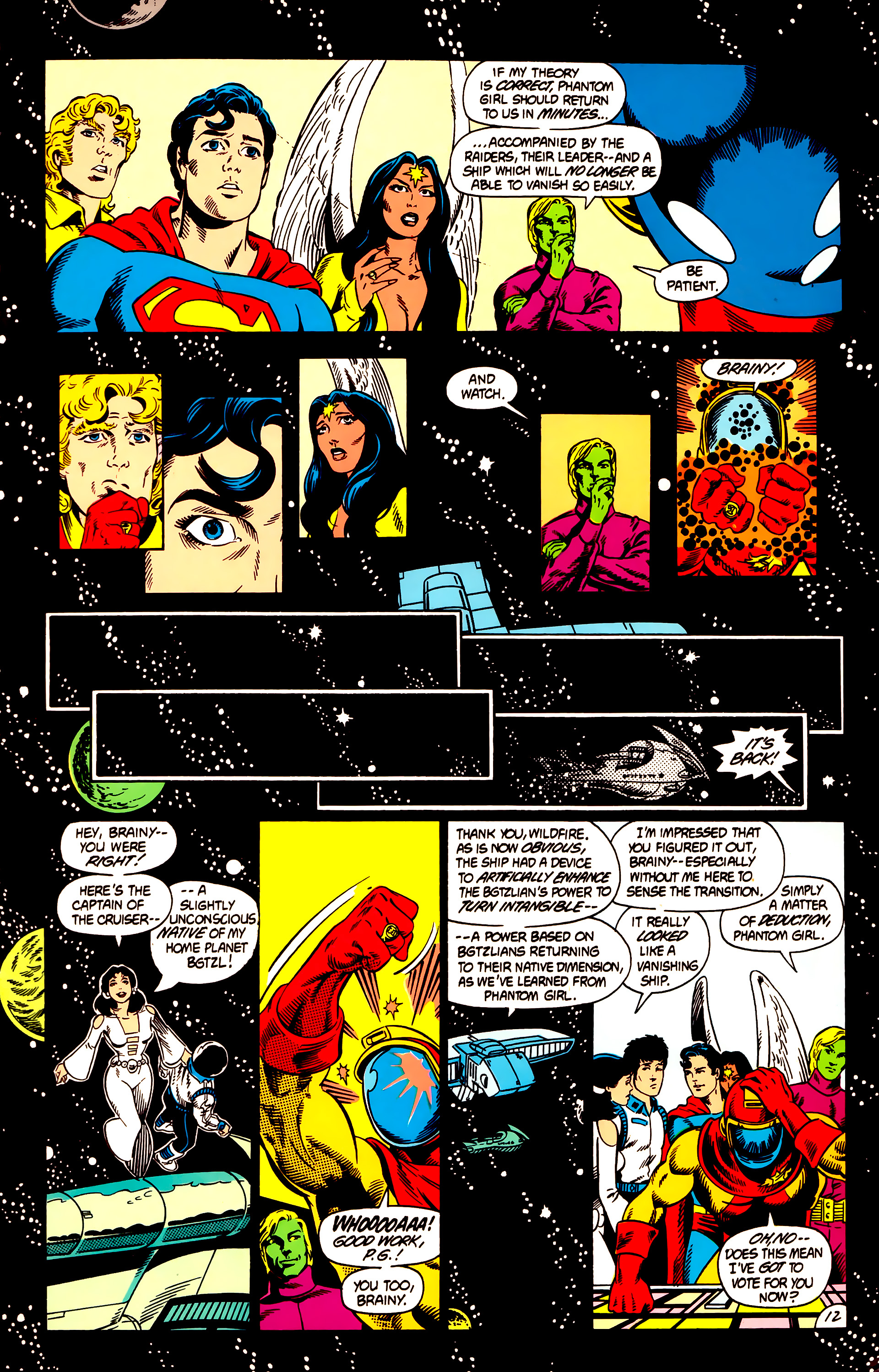 Legion of Super-Heroes (1984) 12 Page 12