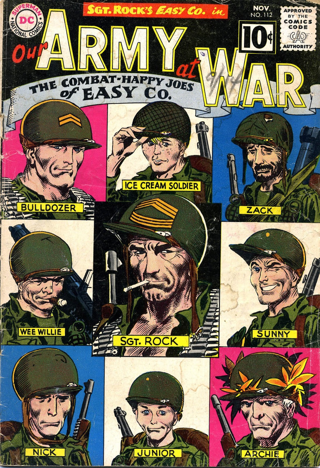 Our Army at War (1952) issue 112 - Page 1