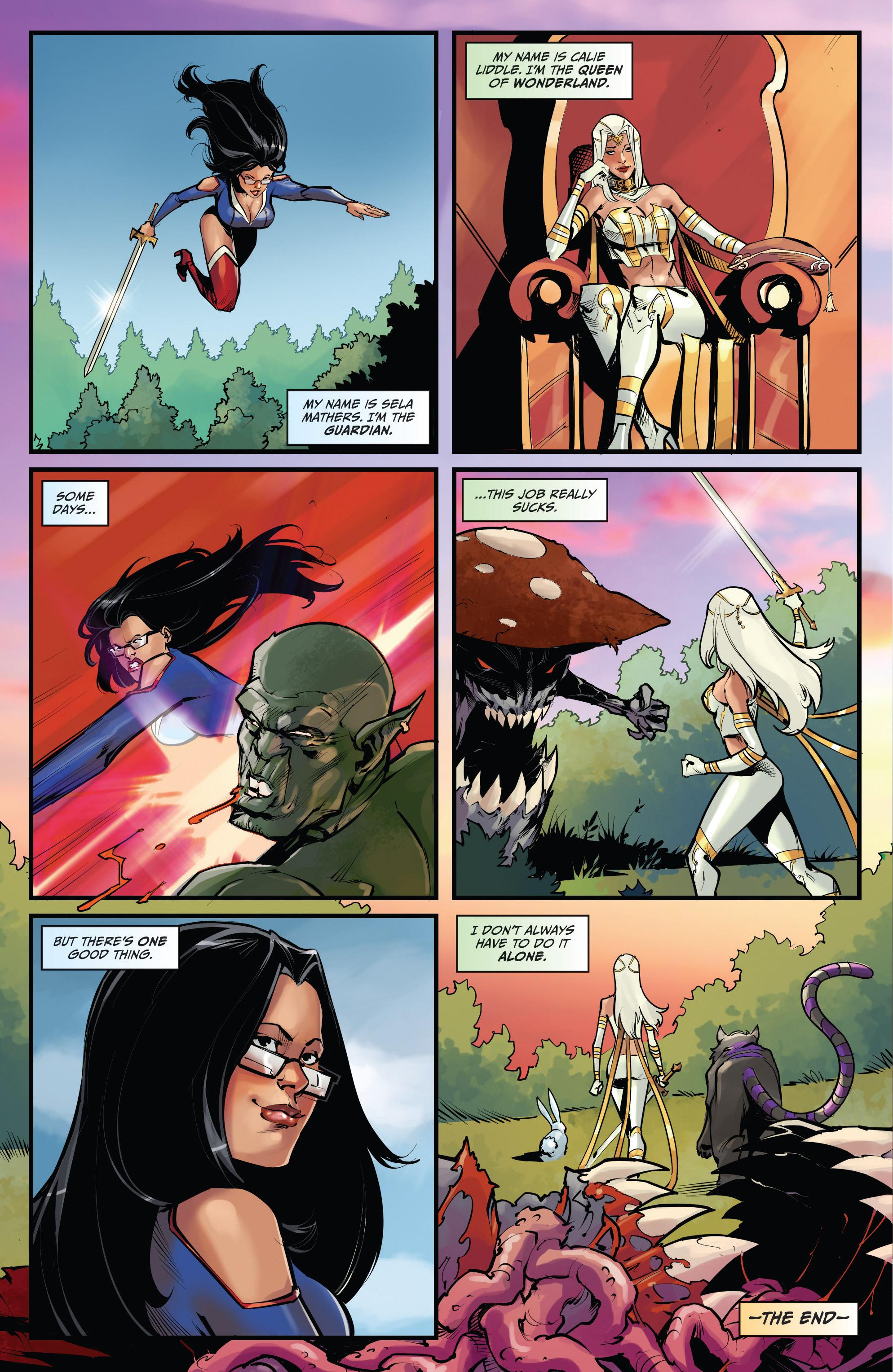 Read online Grimm Fairy Tales vs. Wonderland comic -  Issue #4 - 25