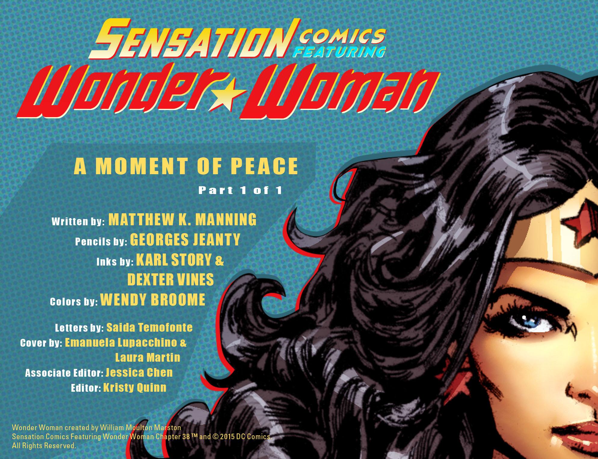 Read online Sensation Comics Featuring Wonder Woman comic -  Issue #38 - 2
