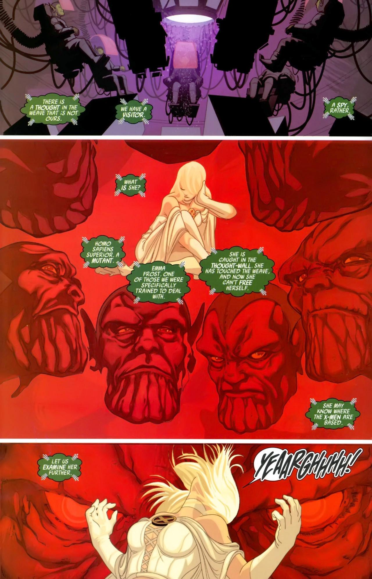 Read online Secret Invasion: X-Men comic -  Issue #3 - 3