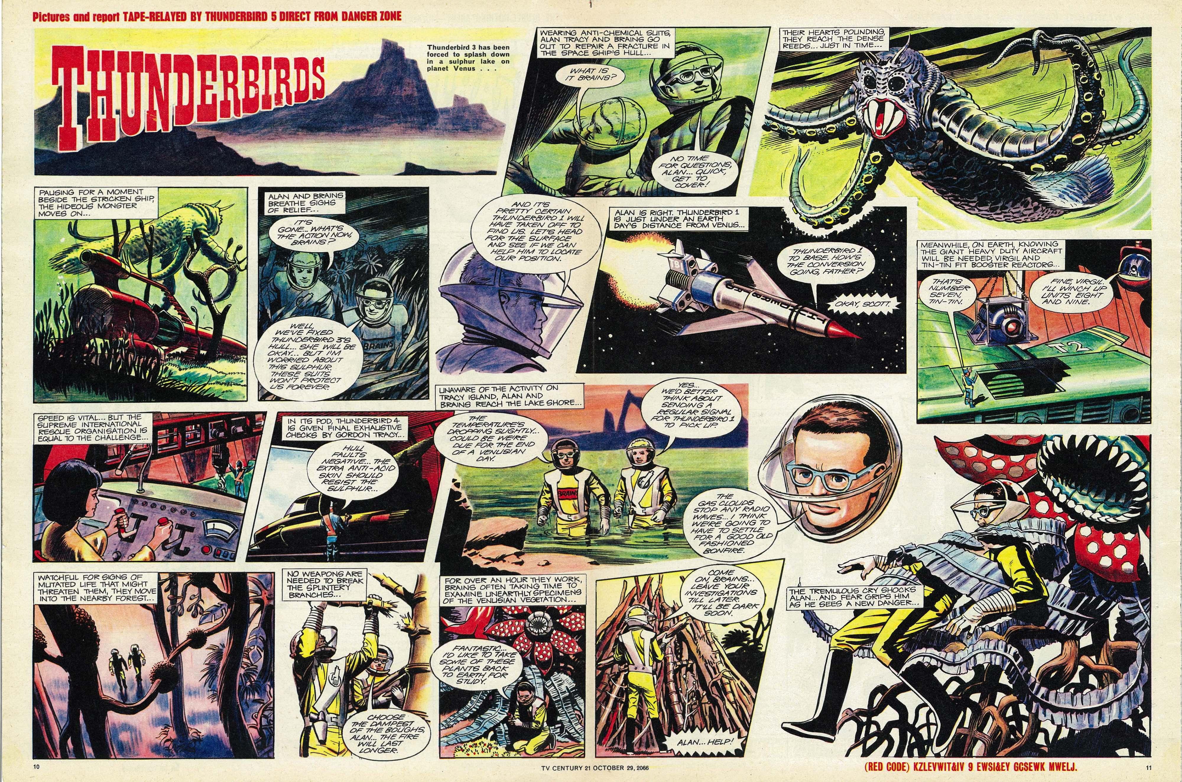 Read online TV Century 21 (TV 21) comic -  Issue #93 - 10