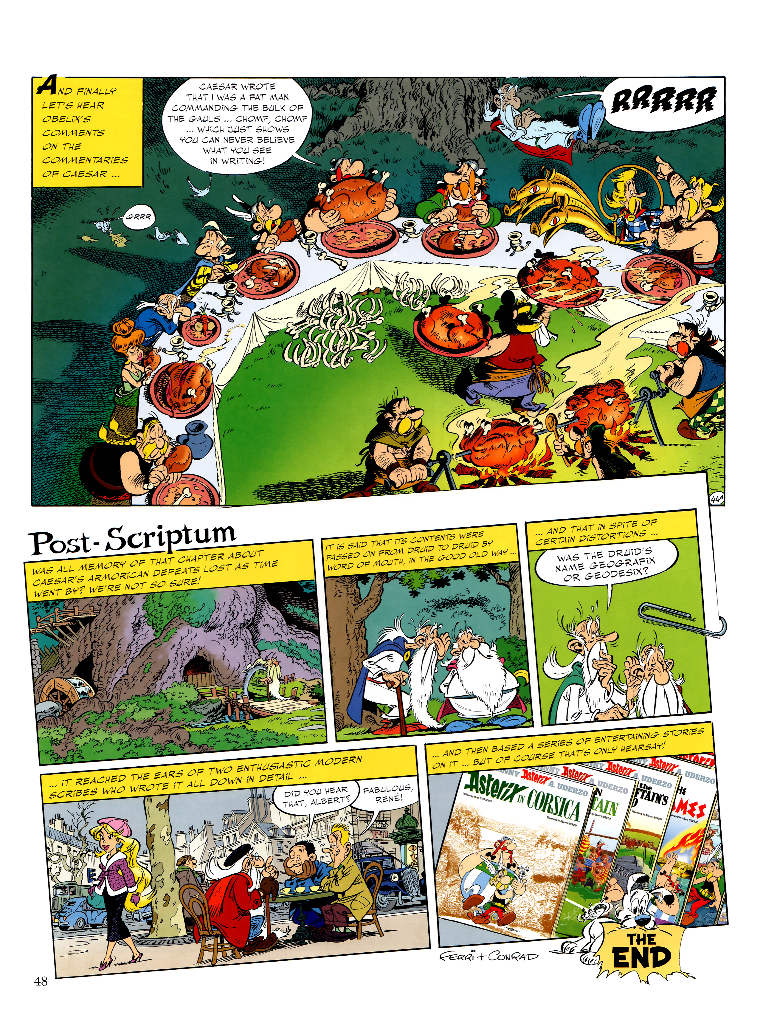 Read online Asterix comic -  Issue #36 - 49