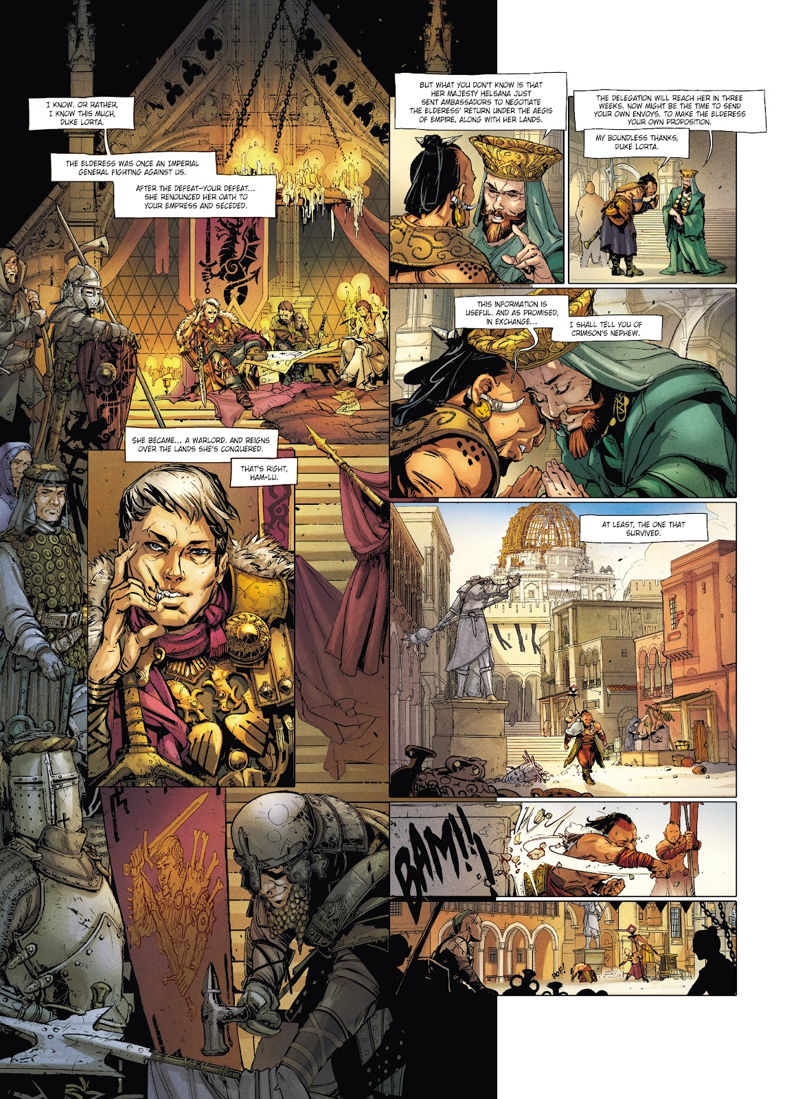 Read online Chronicles of the Dragon Knights comic -  Issue #20 - 23