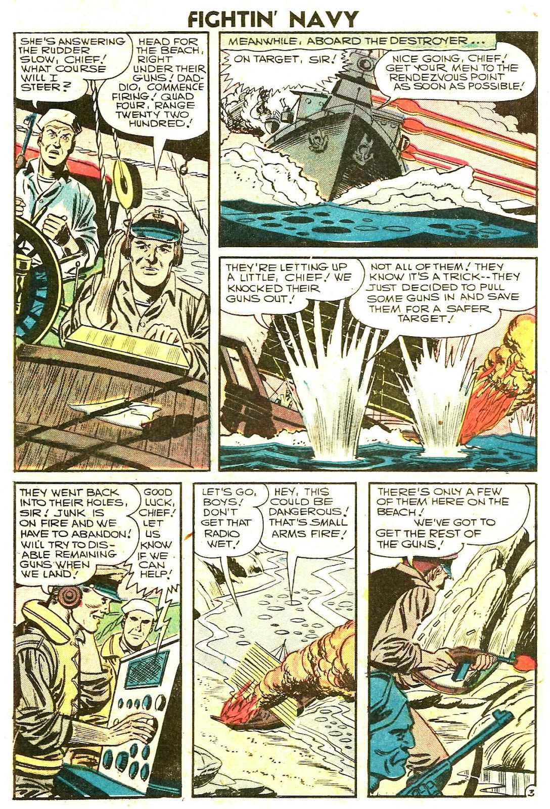 Read online Fightin' Navy comic -  Issue #78 - 20