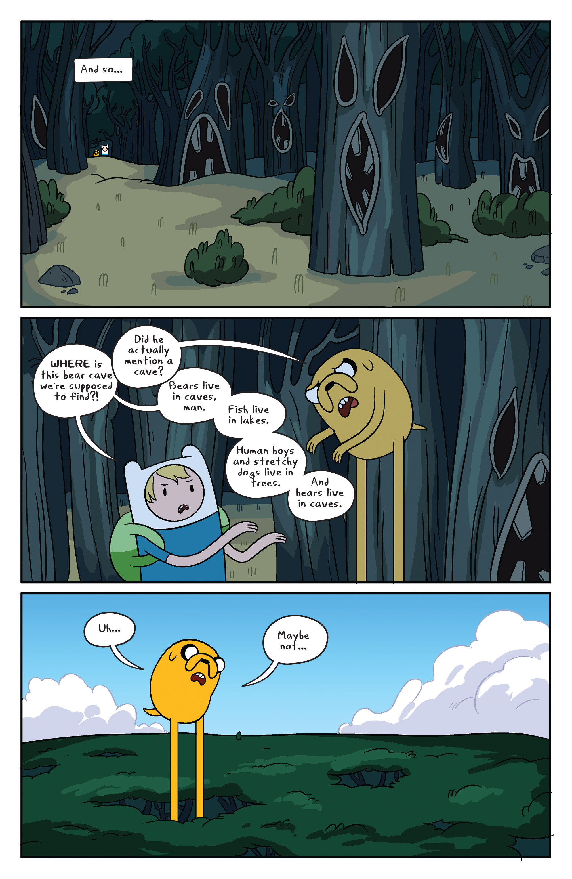 Read online Adventure Time comic -  Issue #41 - 16