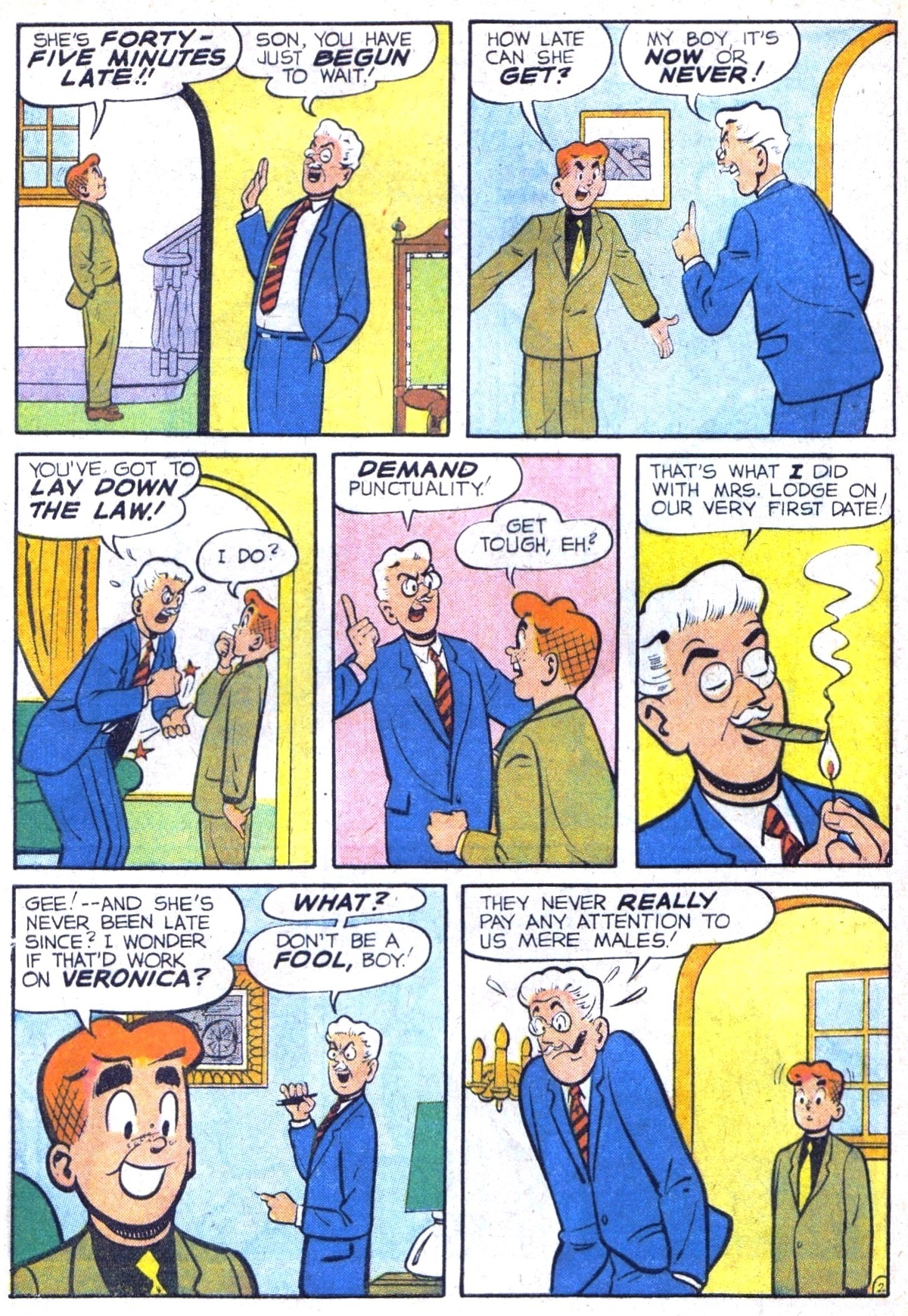 Read online Archie (1960) comic -  Issue #116 - 4
