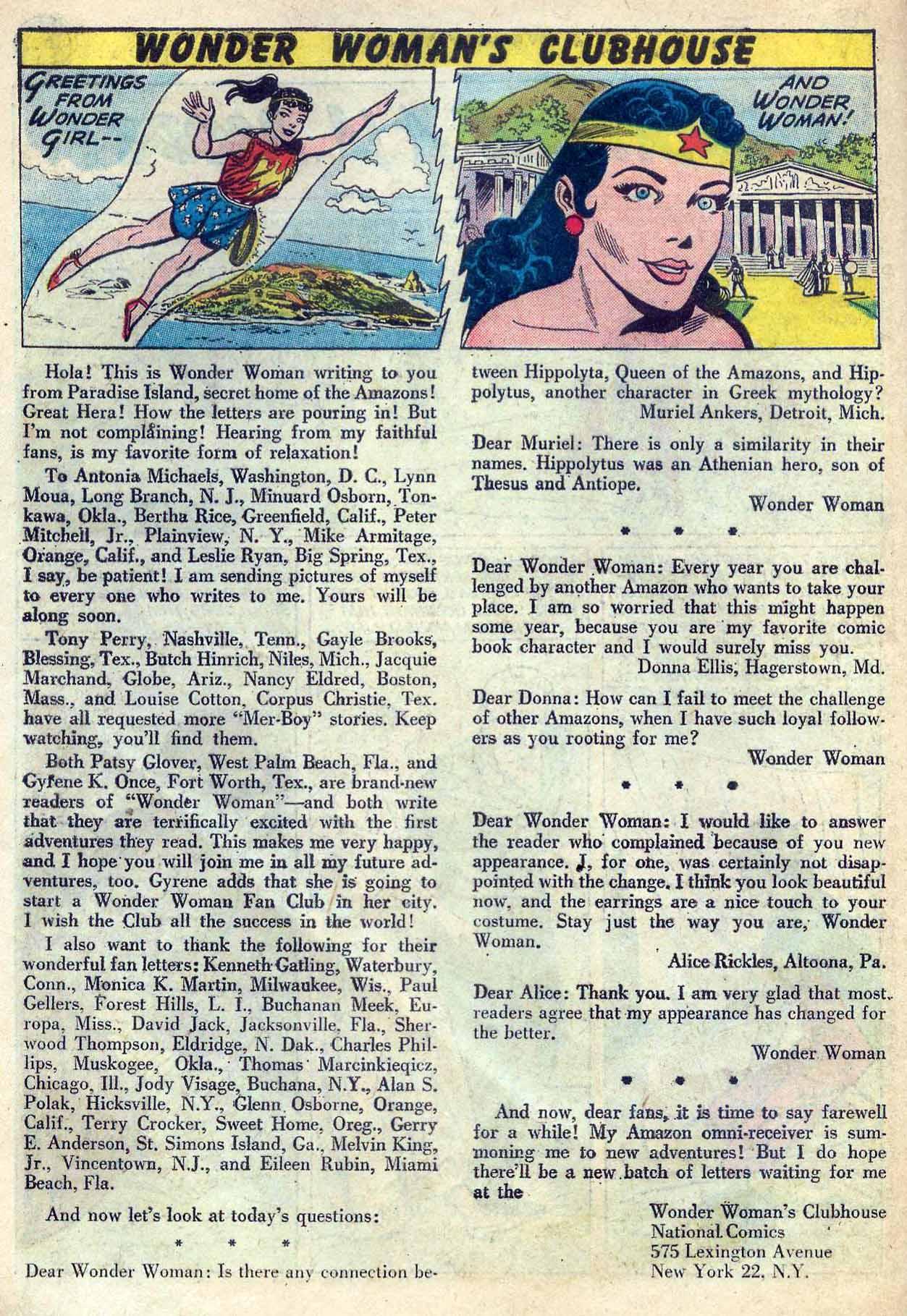 Read online Wonder Woman (1942) comic -  Issue #120 - 18