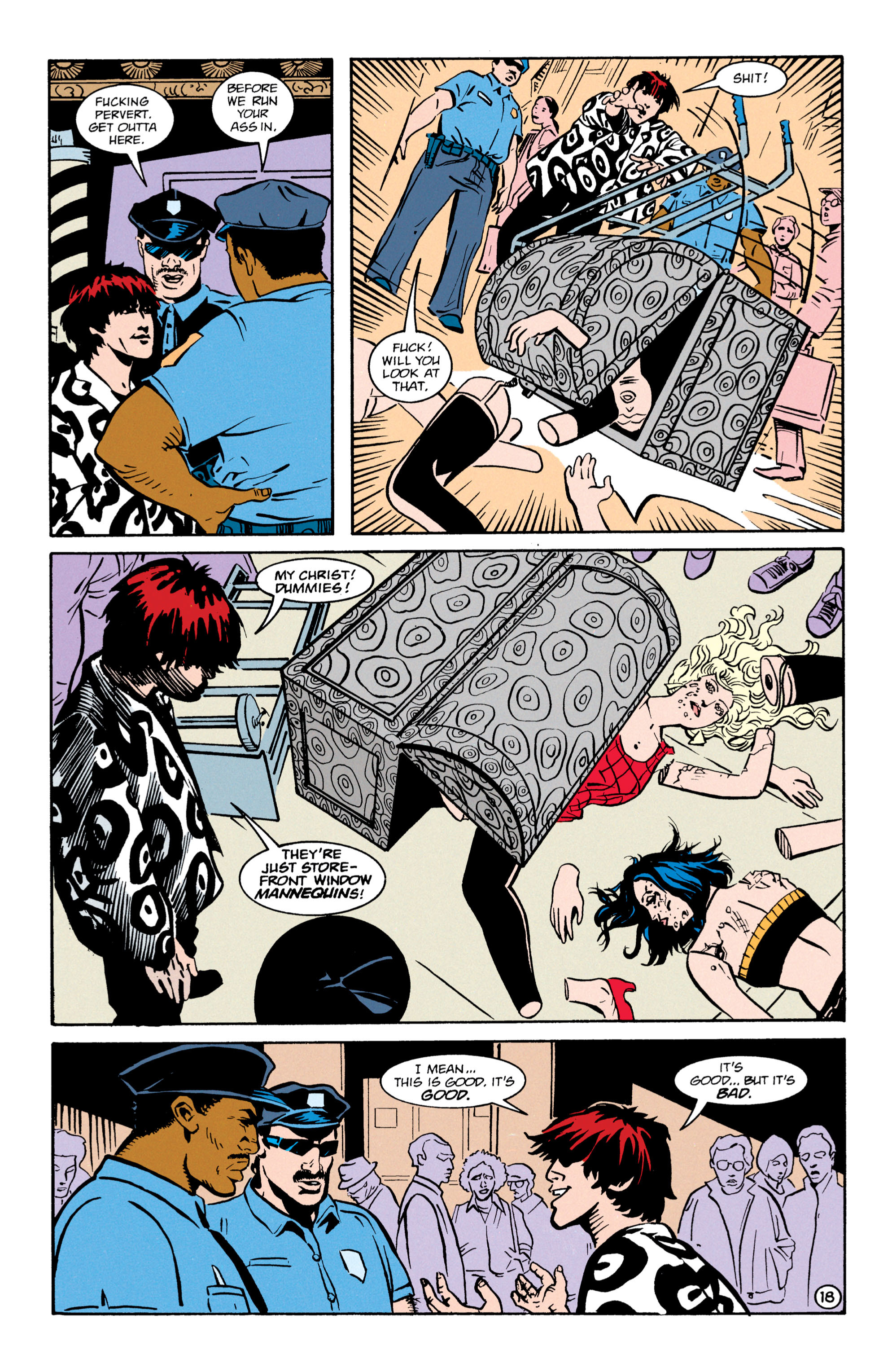 Read online Shade, the Changing Man comic -  Issue #64 - 19