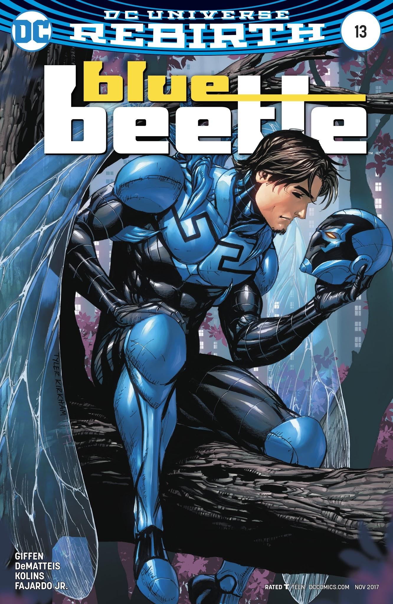 Blue Beetle (2016) 13 Page 3